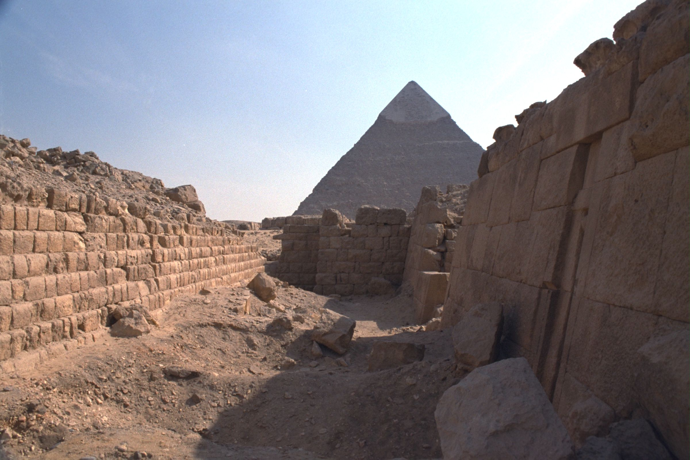 Western Cemetery: Site: Giza; View: G 2120, G 2100-I