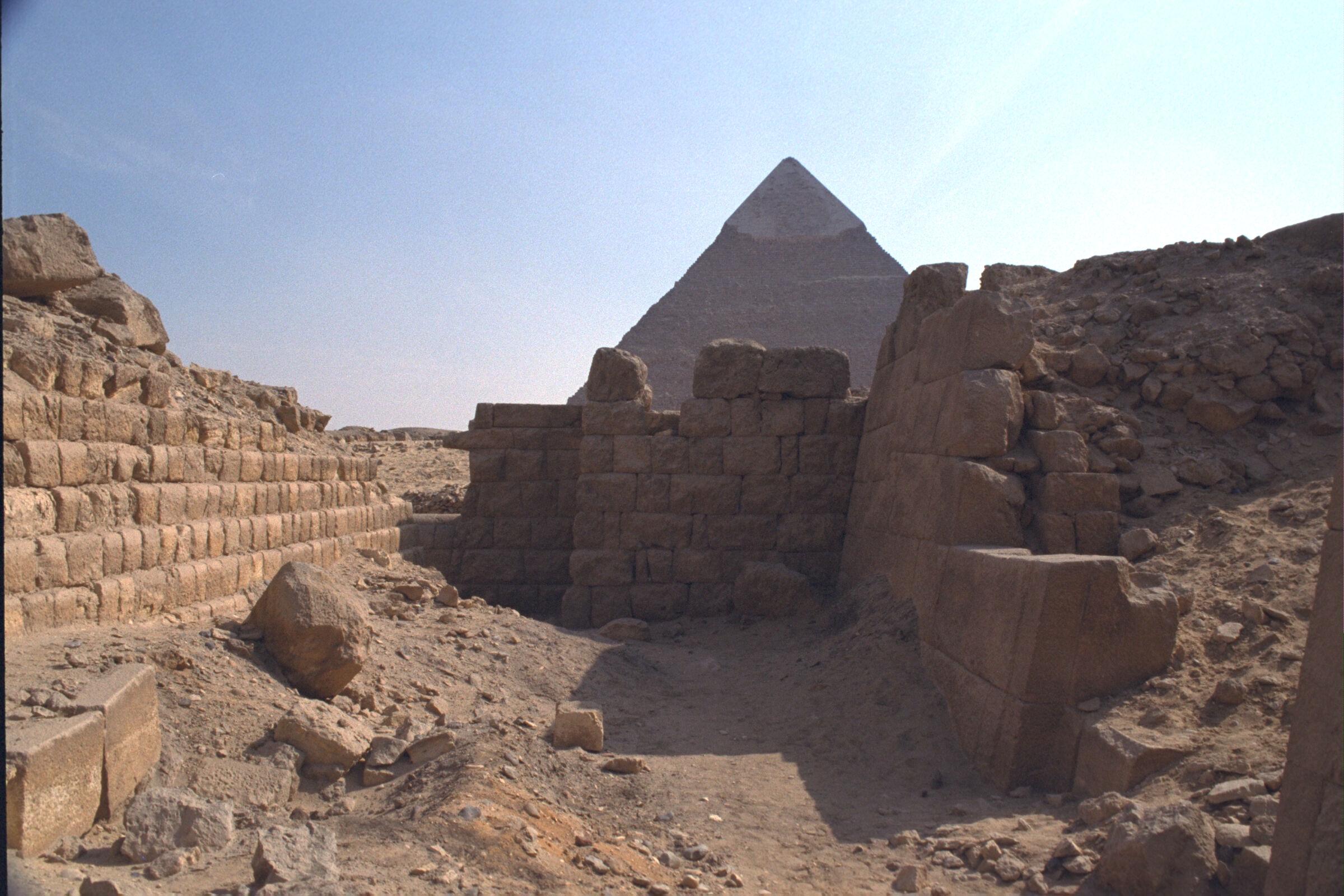 Western Cemetery: Site: Giza; View: G 2120, G 2100-I, G 2100-II