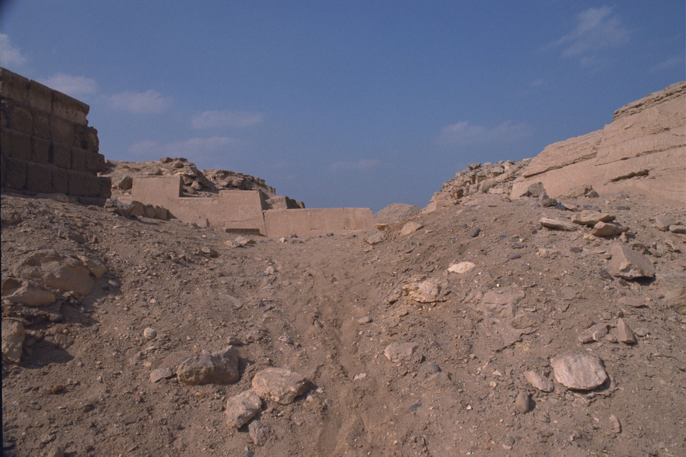 Western Cemetery: Site: Giza; View: G 2100, G 2130, G 2114