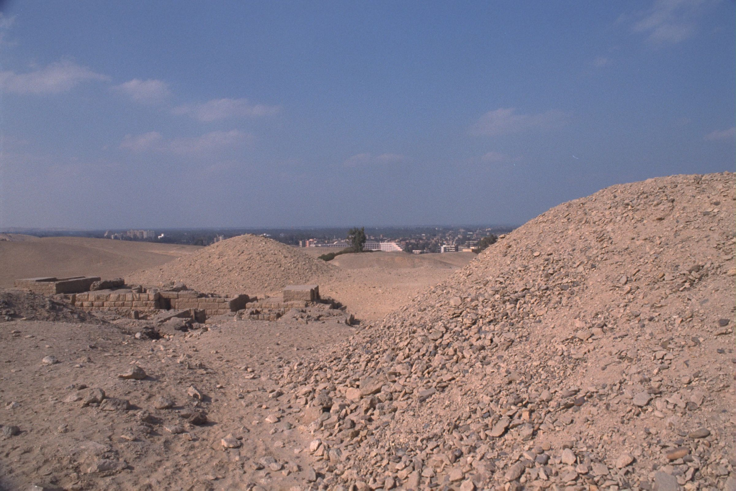 Western Cemetery: Site: Giza; View: G 2210, G 2245, G 2244, G 2246, G 2243, G 2240, G 2231