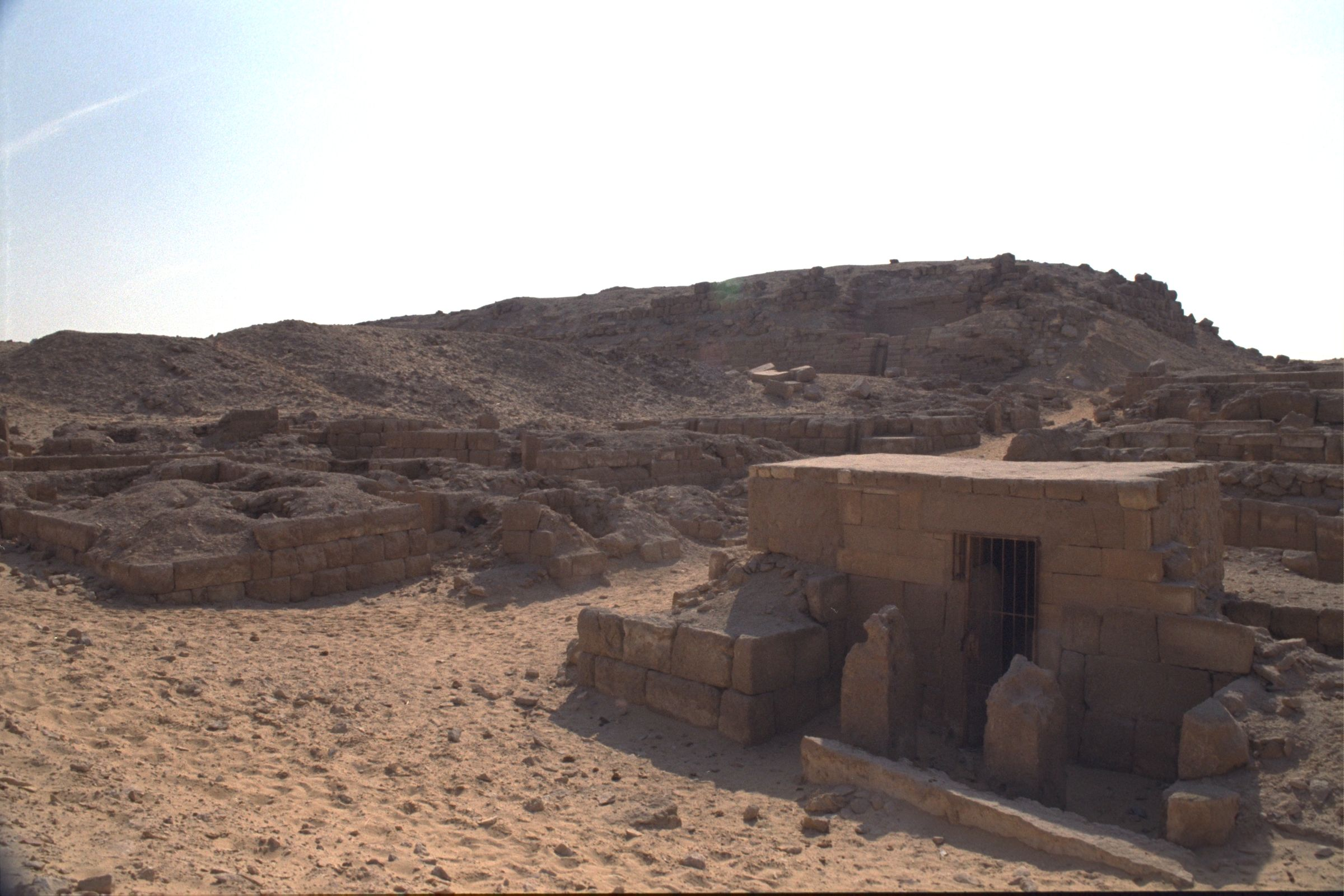 Western Cemetery: Site: Giza; View: G 2240, G 2246, G 2243, G 2000