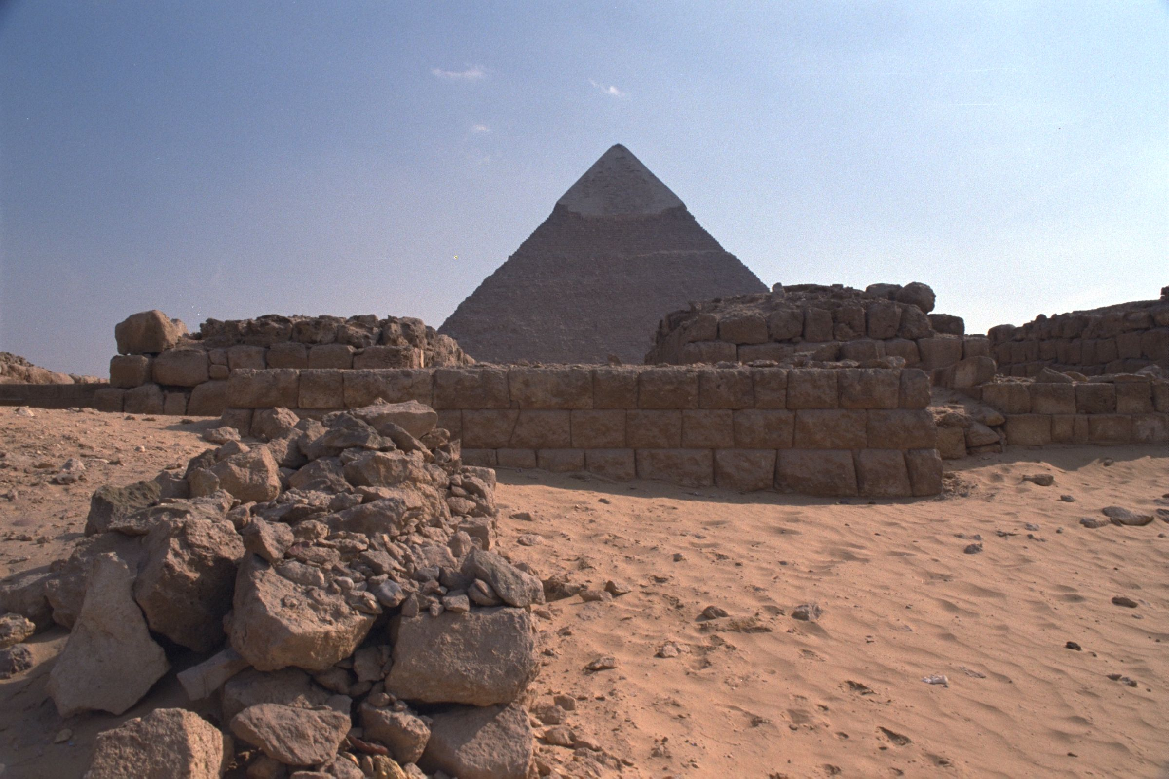Western Cemetery: Site: Giza; View: G 2100-II, D 118, G 4560, G 4460