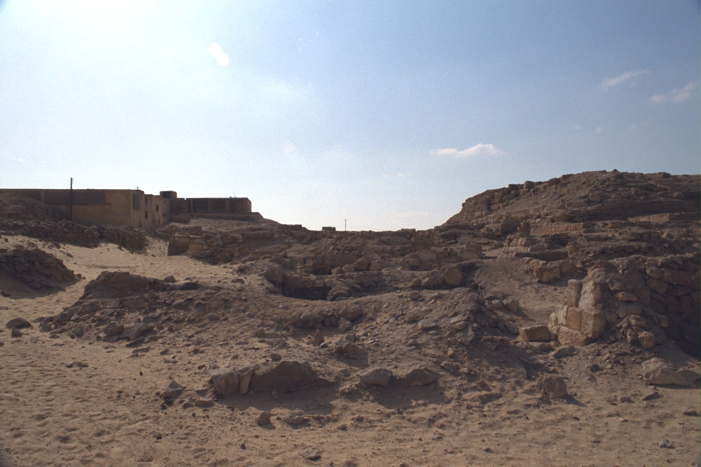Western Cemetery: Site: Giza; View: D 112, D 111, D 110, G 2000