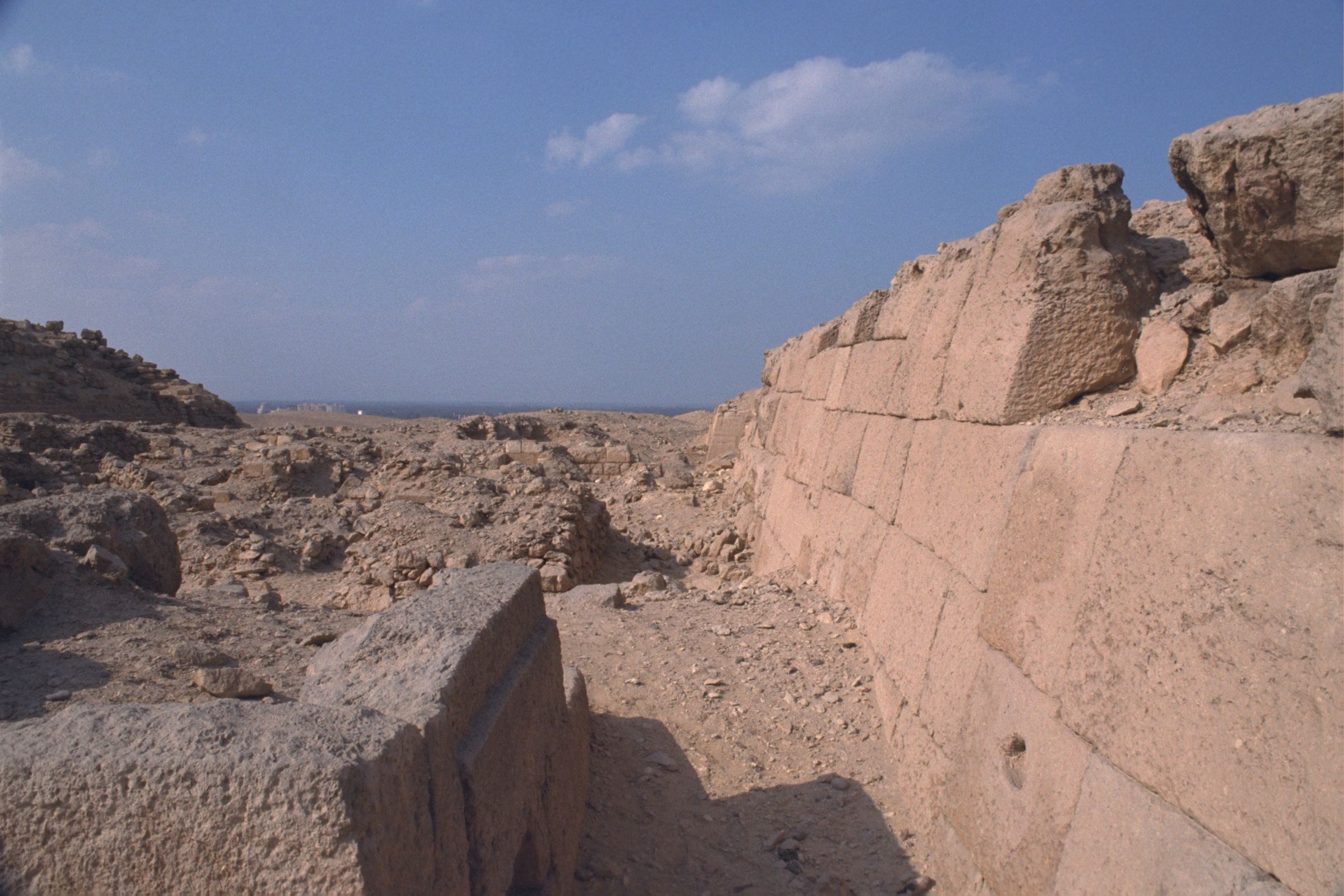 Western Cemetery: Site: Giza; View: G 2020, G 2100-I