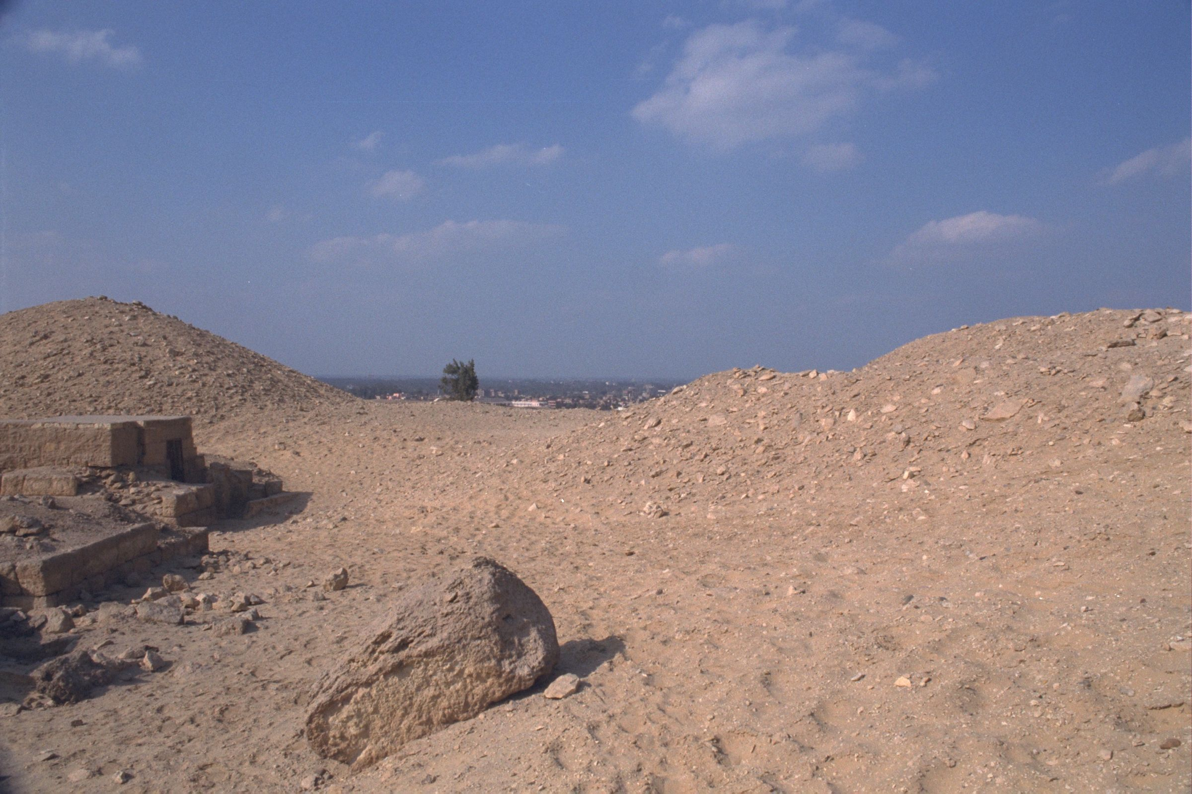 Western Cemetery: Site: Giza; View: G 2243, G 2246, G 2240