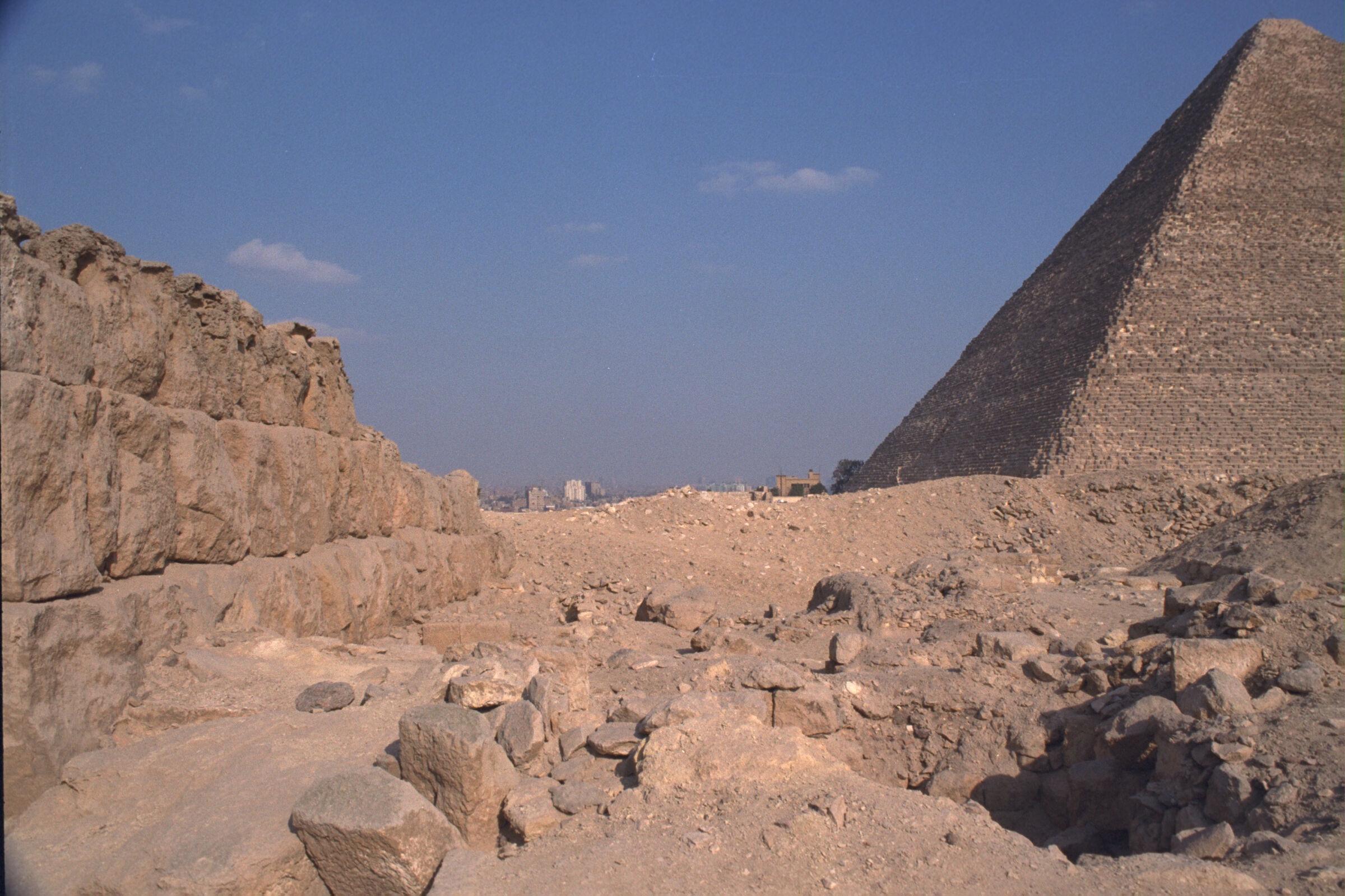 Western Cemetery: Site: Giza; View: G 2220, G 2134, G 2137, G 2138, G 2139