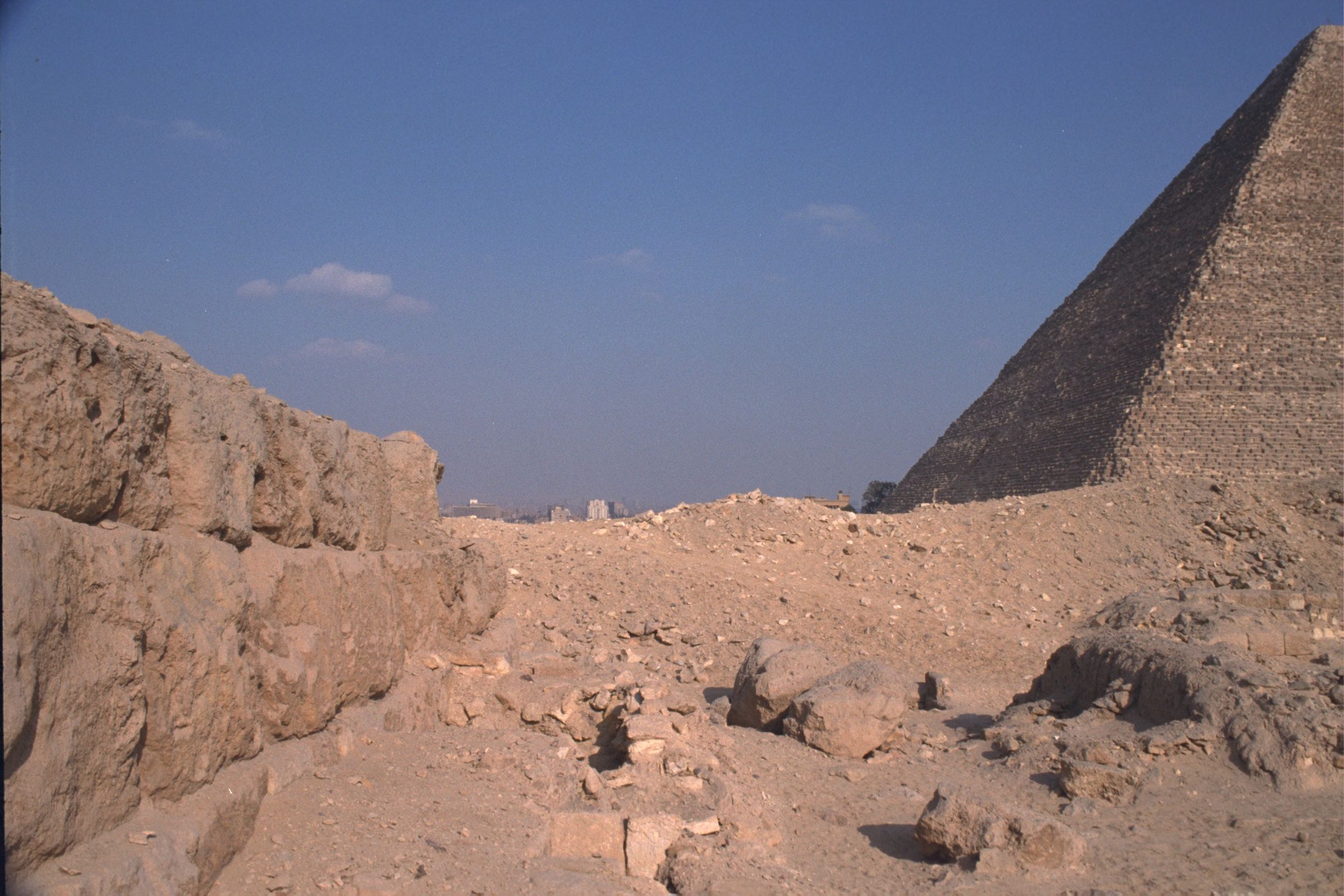 Western Cemetery: Site: Giza; View: G 2220, G 2138, G 2139, G 2156'