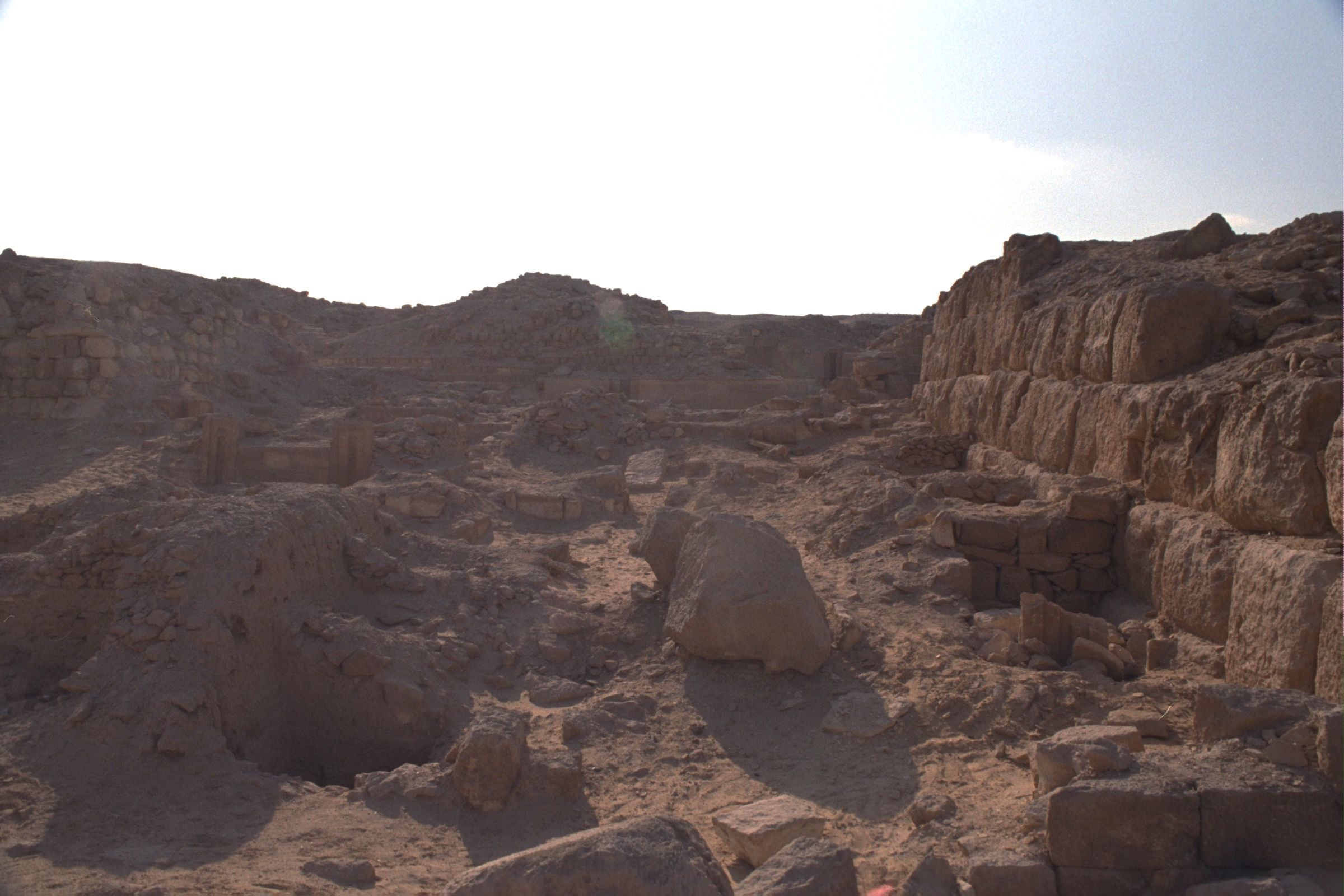 Western Cemetery: Site: Giza; View: G 2154a, G 2156', G 2151, G 2139, G 2220
