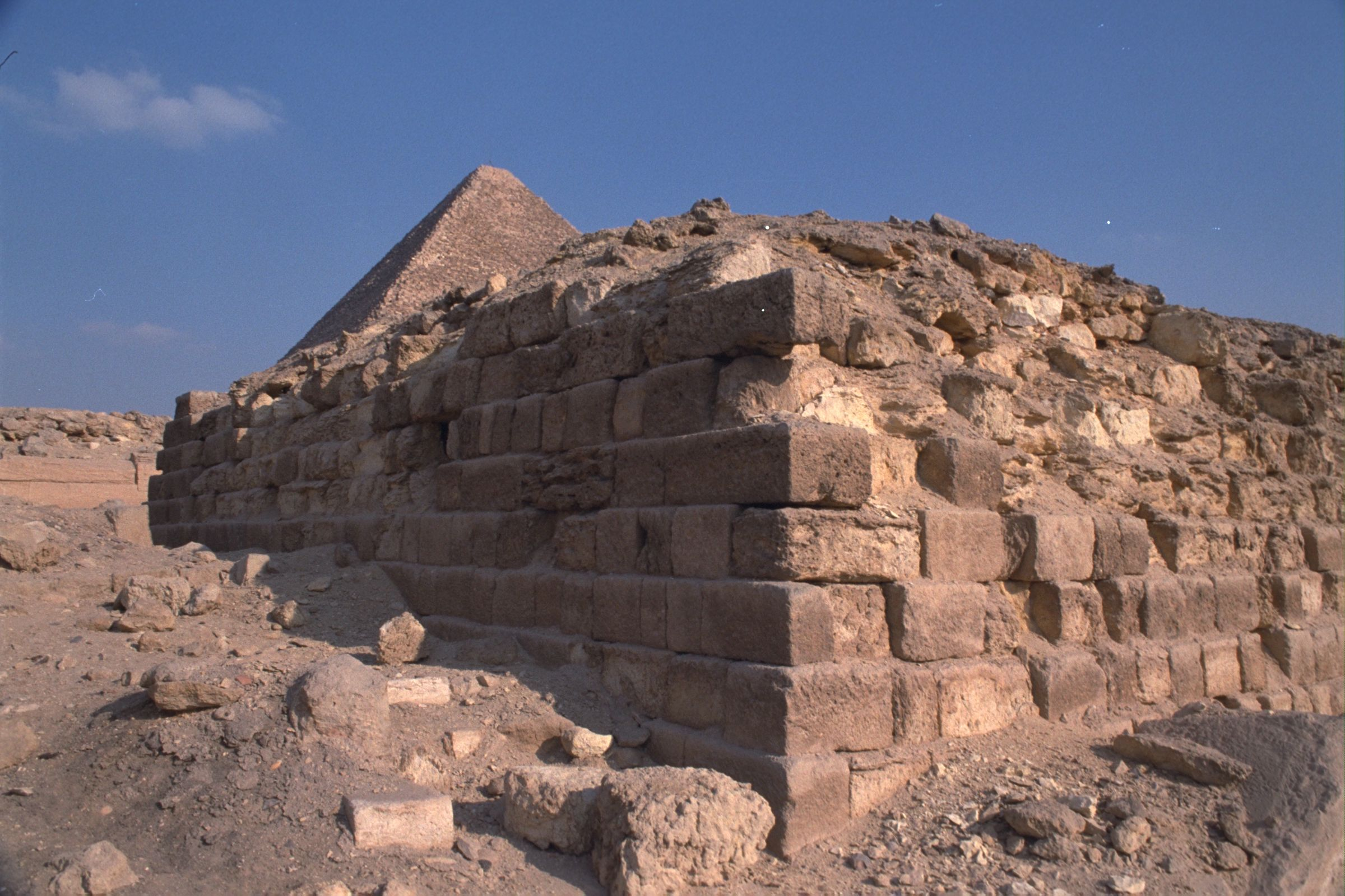 Western Cemetery: Site: Giza; View: G 2100, G 2112, G 2111