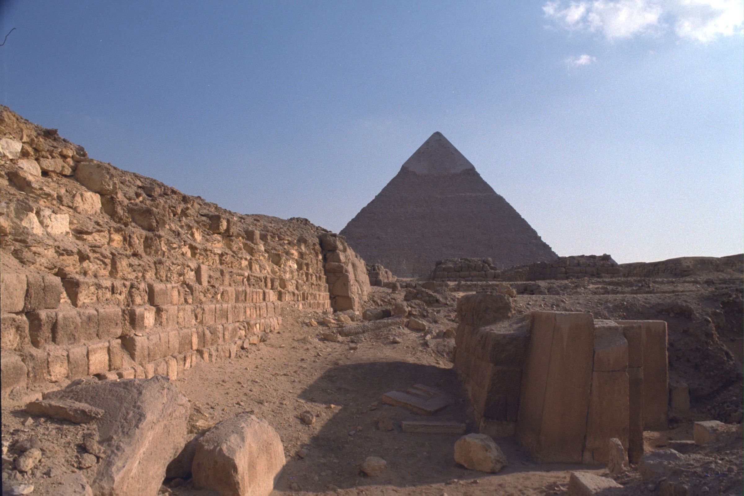 Western Cemetery: Site: Giza; View: G 2100, G 2041