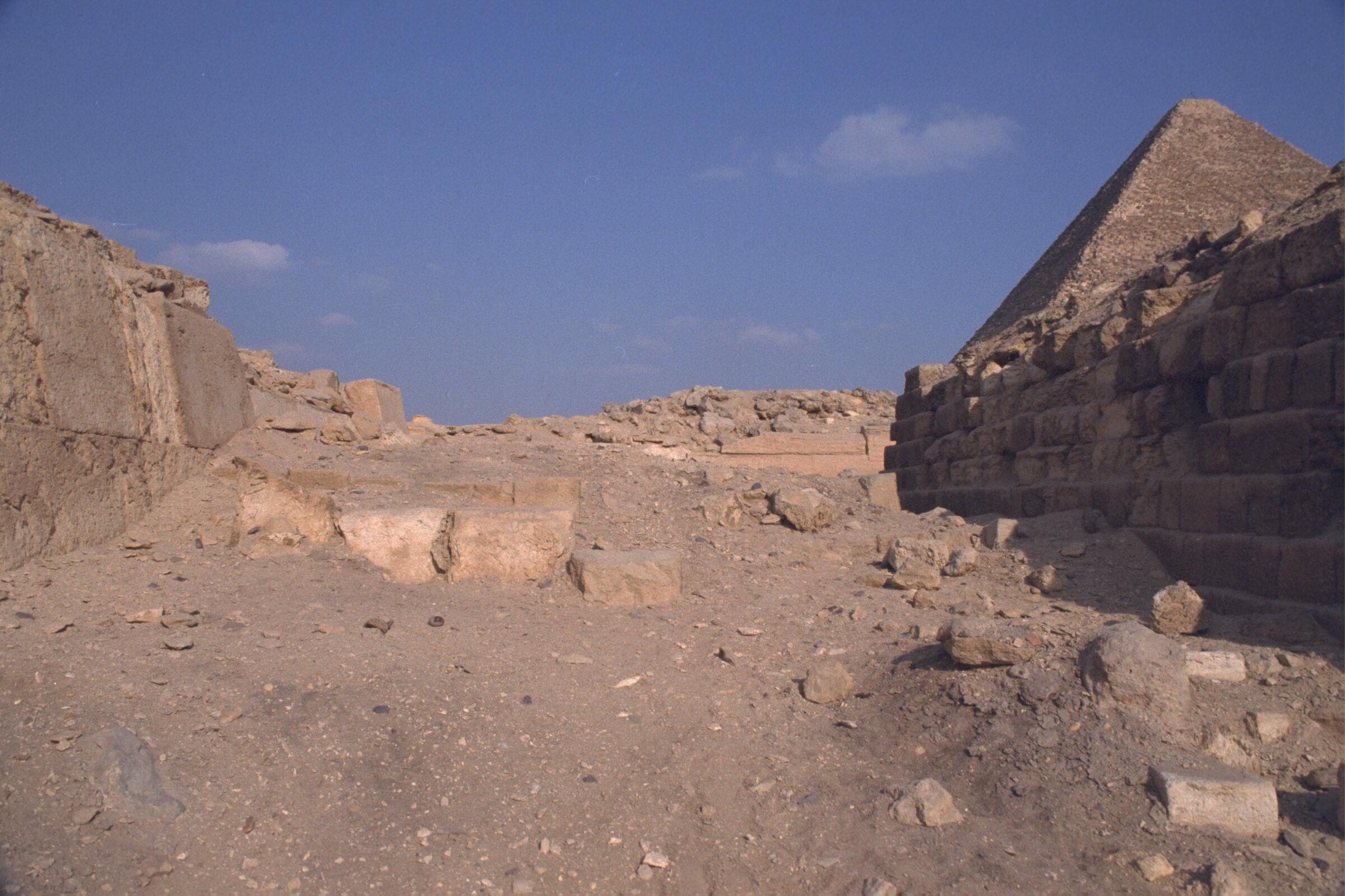 Western Cemetery: Site: Giza; View: G 2110, G 2100, G 2113, G 2111, G 2112