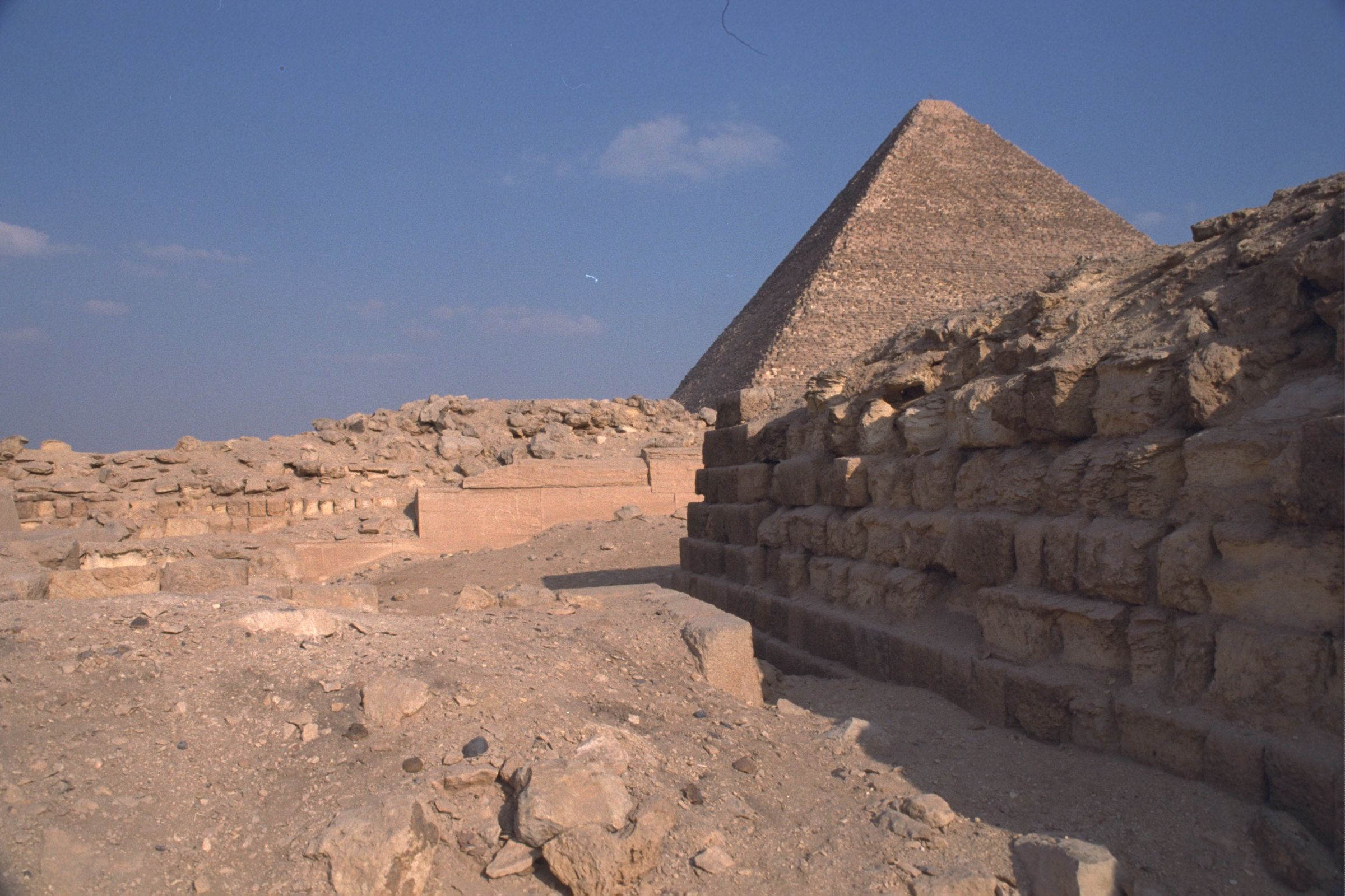 Western Cemetery: Site: Giza; View: G 2100, G 2111, G 2112