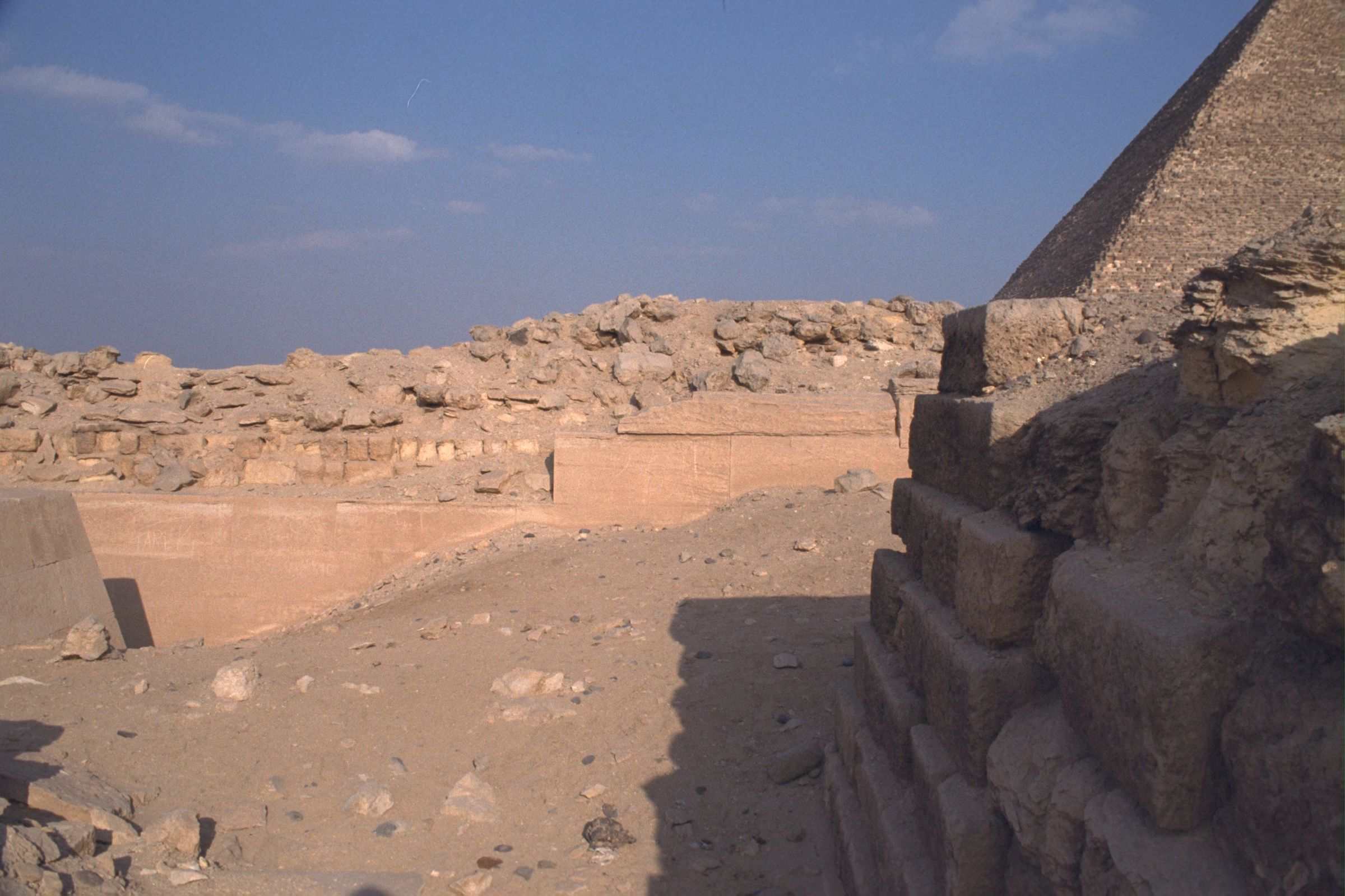 Western Cemetery: Site: Giza; View: G 2110, G 2100, G 2112, G 2130