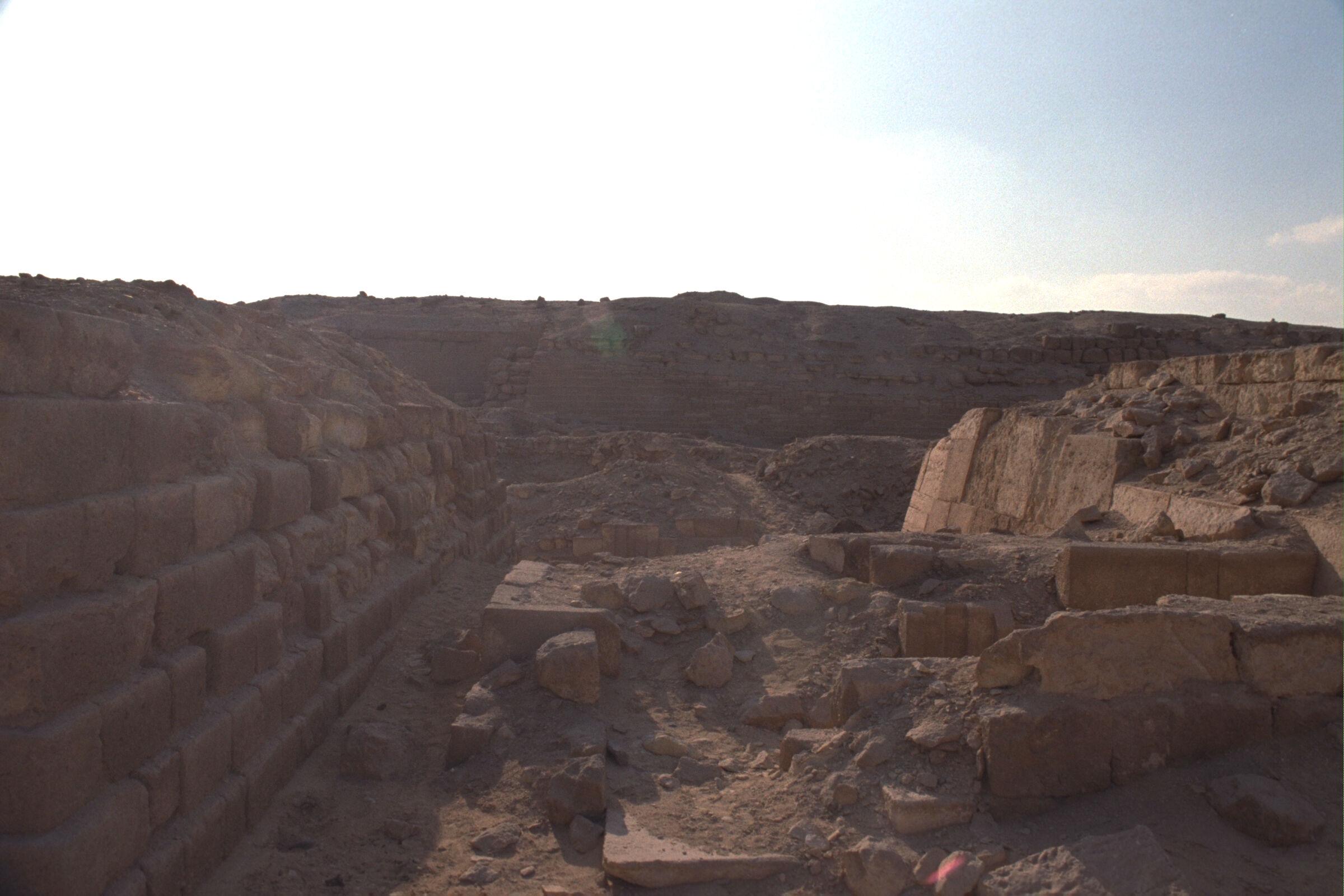 Western Cemetery: Site: Giza; View: G 2100, G 2111, G 2113, G 2041, G 2051