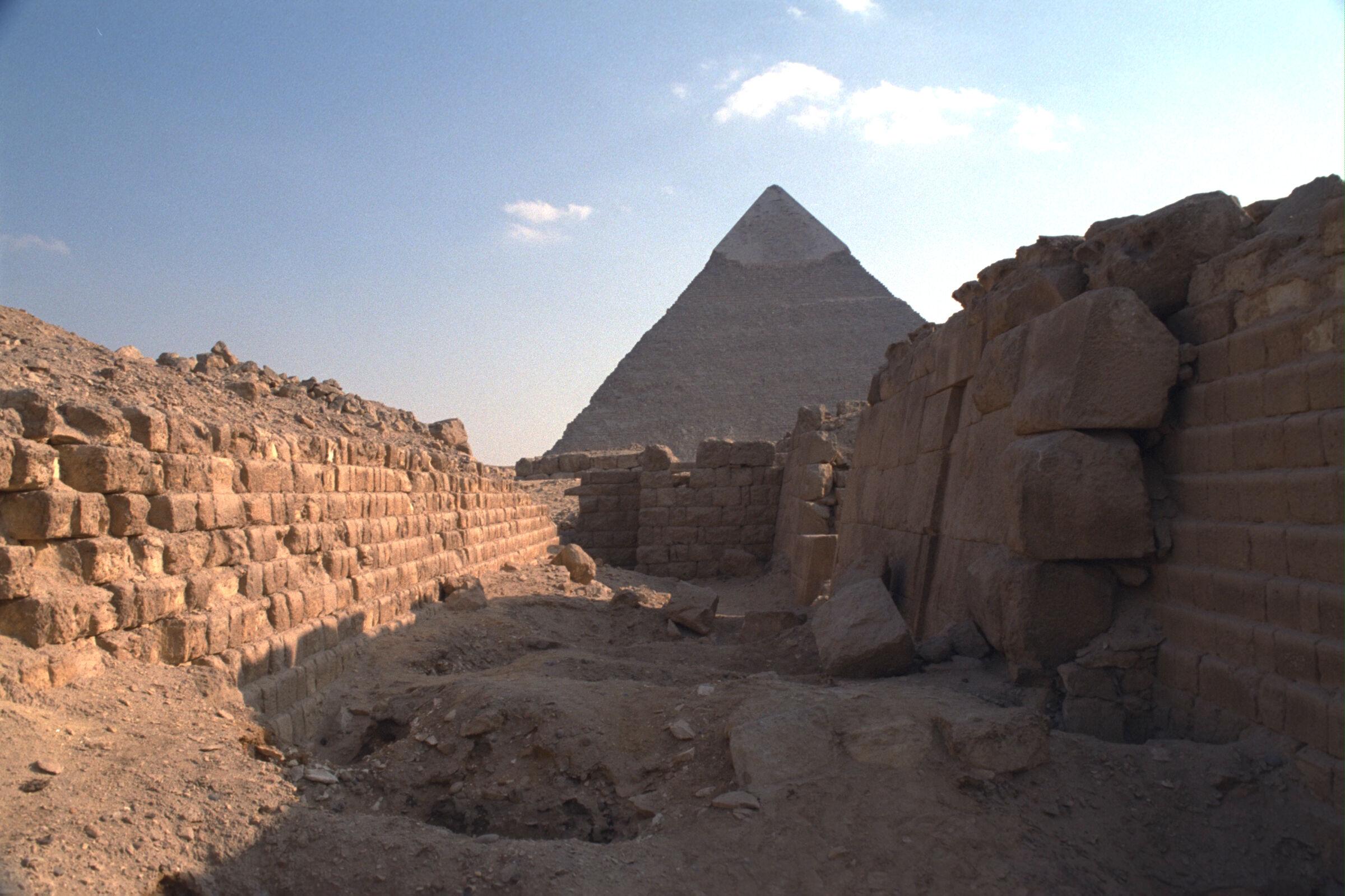 Western Cemetery: Site: Giza; View: G 2120, G 2100, G 2104, G 2103, G 2102