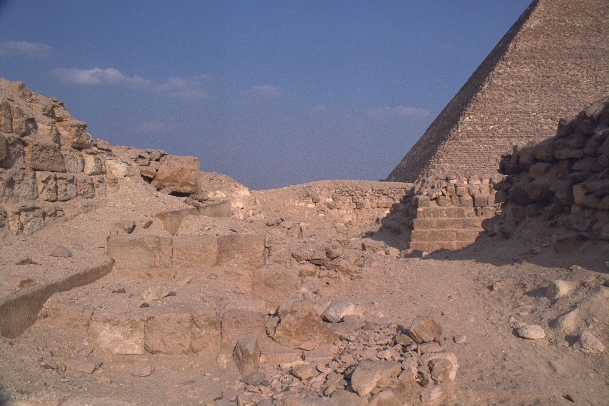 Western Cemetery: Site: Giza; View: G 2150, G 2140, G 2143, G 2142, G 2141
