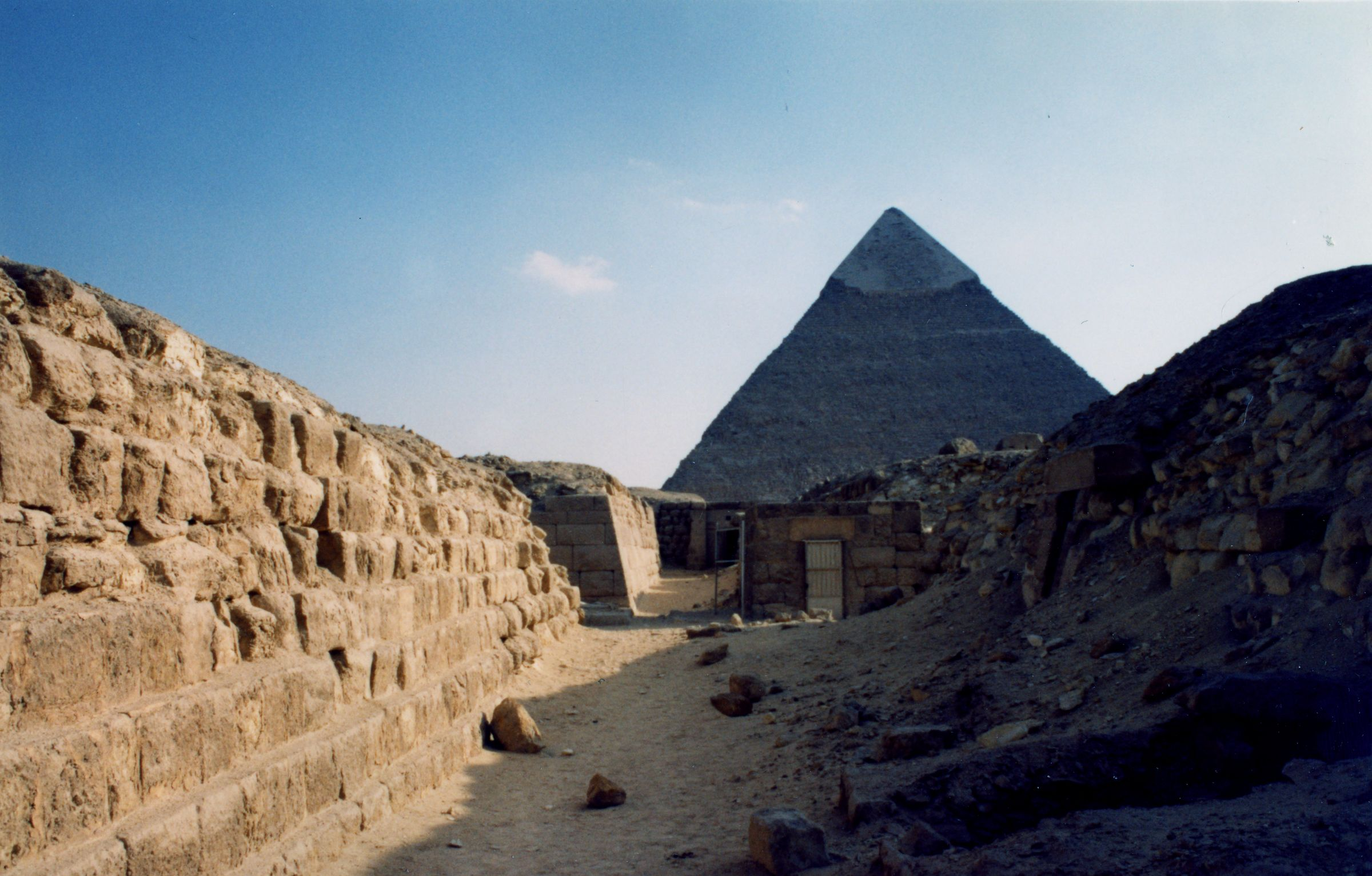 Western Cemetery: Site: Giza; View: G 2160, G 2140, G 2136