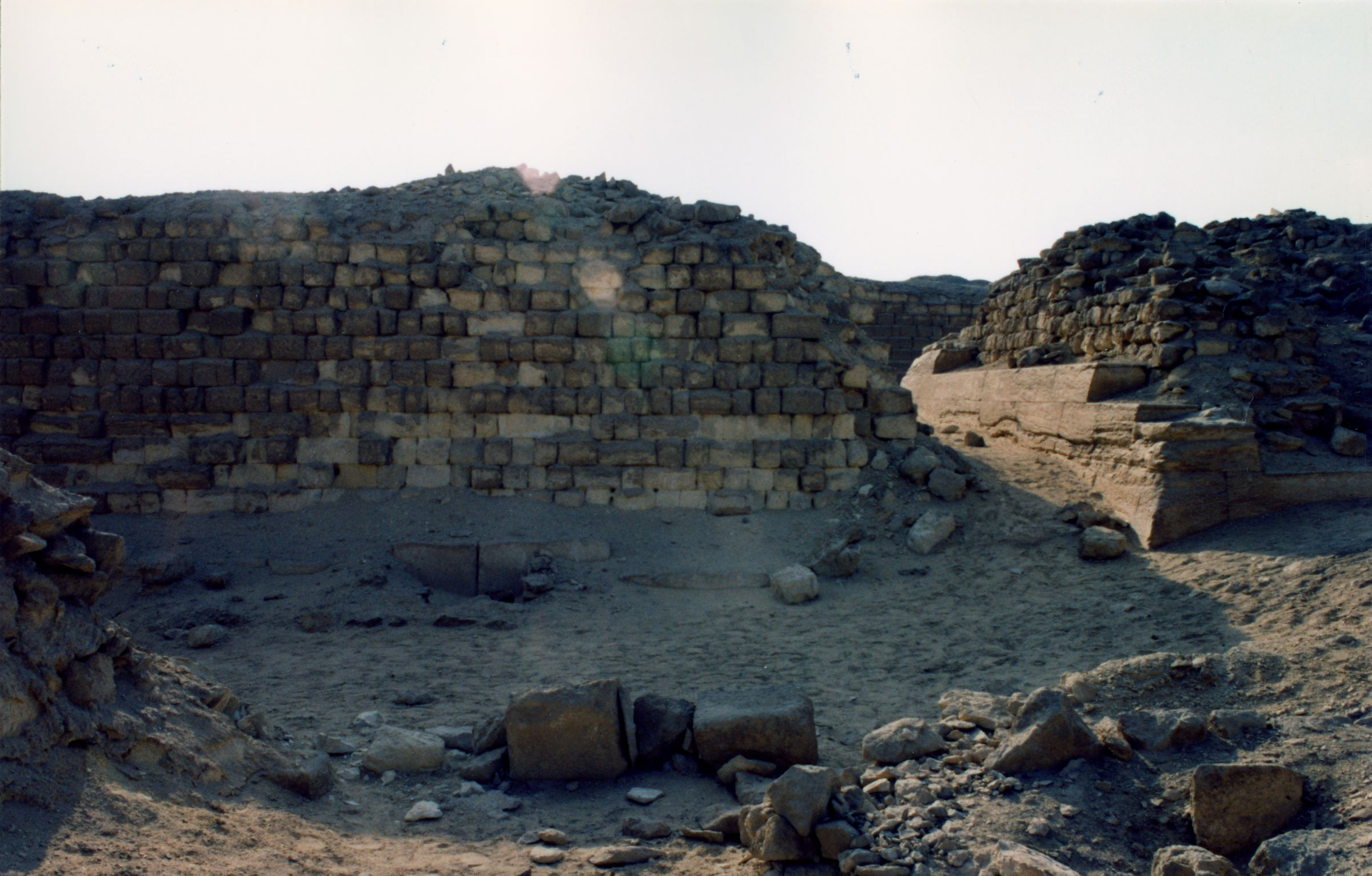 Western Cemetery: Site: Giza; View: G 2121, G 2120, G 2140