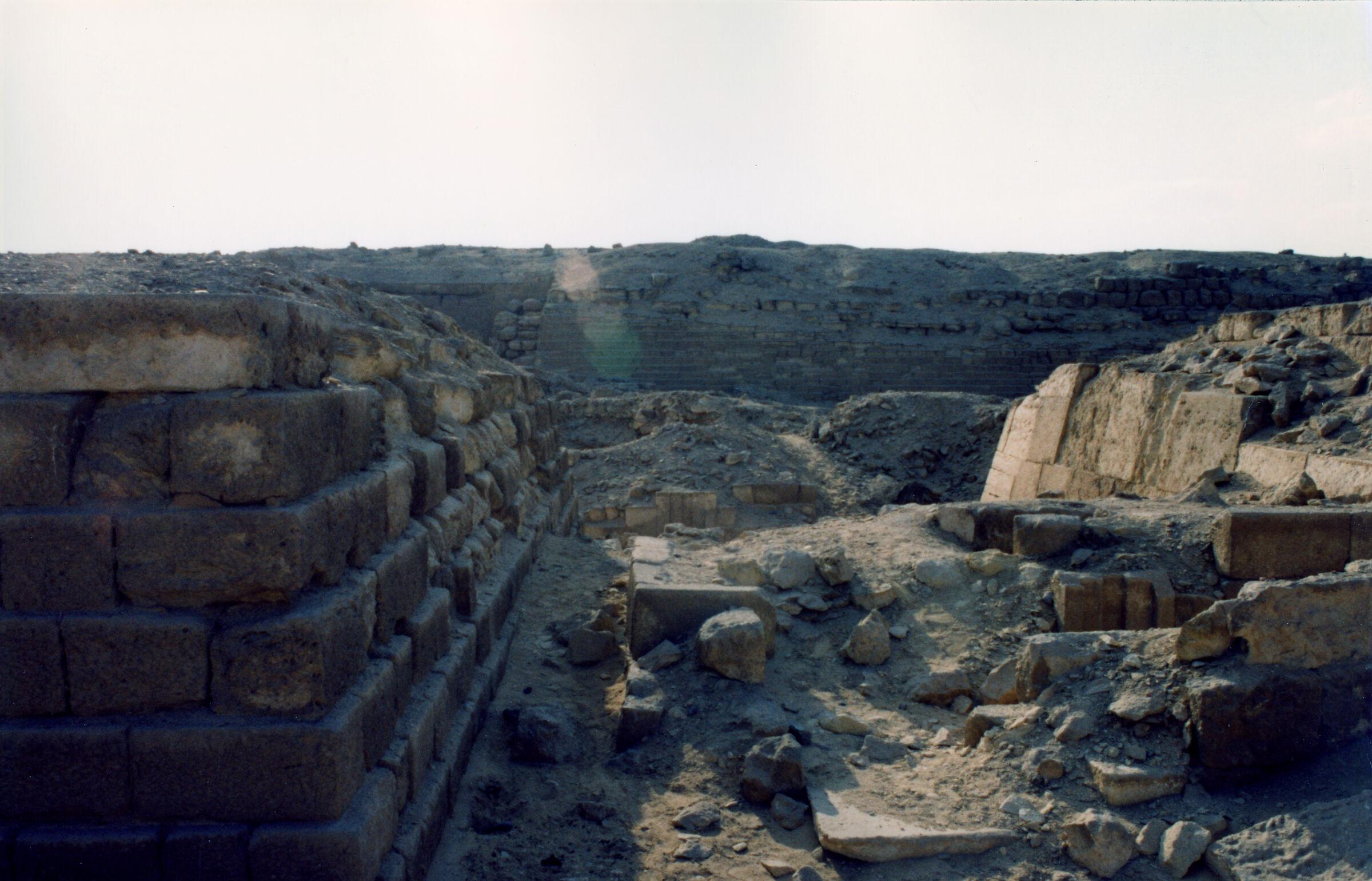 Western Cemetery: Site: Giza; View: G 2112, G 2111, G 2113, G 2100, G 2110