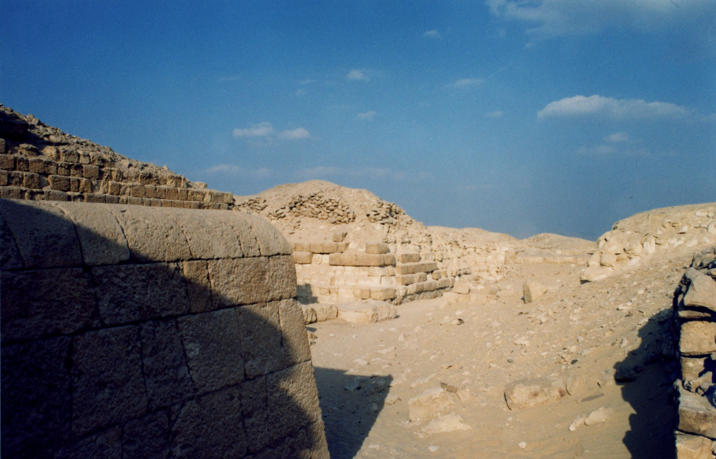 Western Cemetery: Site: Giza; View: G 2100-II, G 2120, G 2140