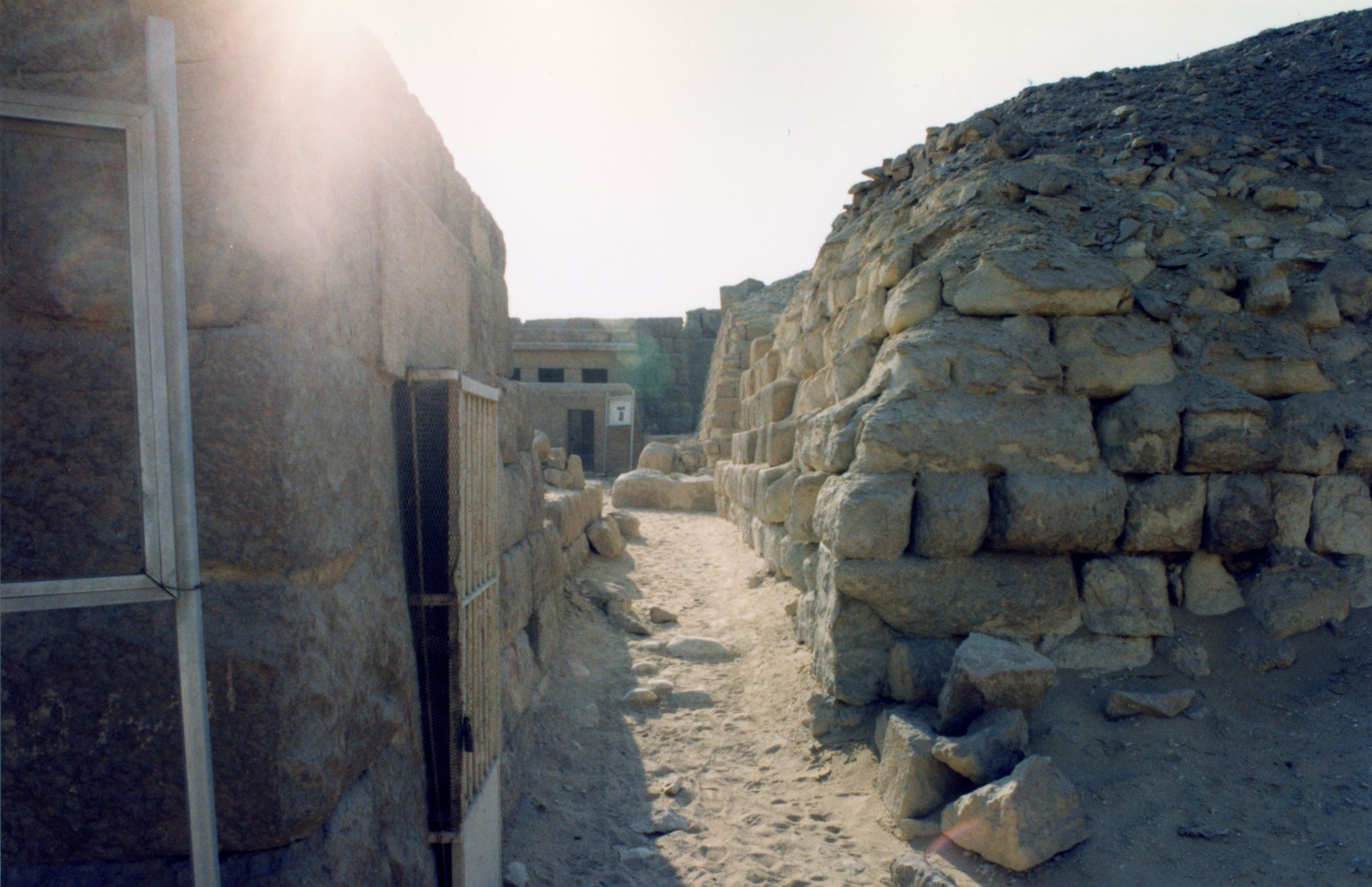 Western Cemetery: Site: Giza; View: G 2136, G 2140, 2100-II