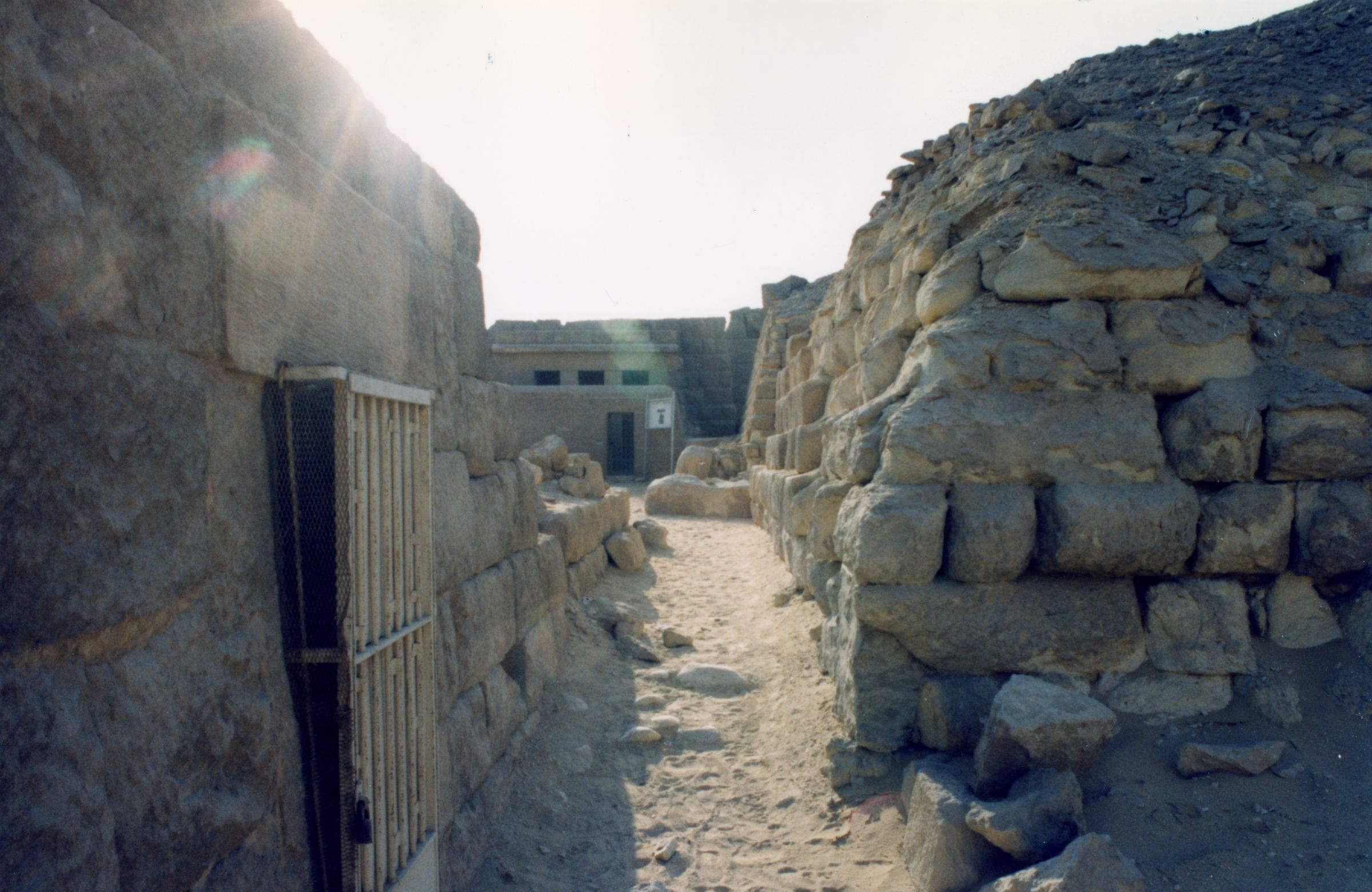 Western Cemetery: Site: Giza; View: G 2136, G 2140, G 2100-II