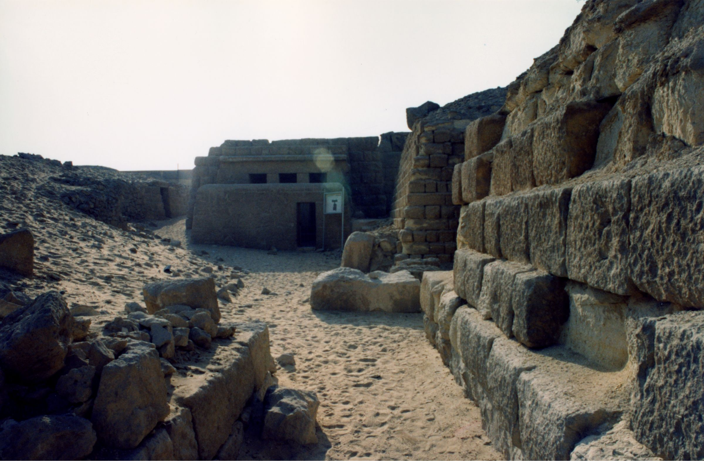 Western Cemetery: Site: Giza; View: G 2100-II, G 2140, G 2120