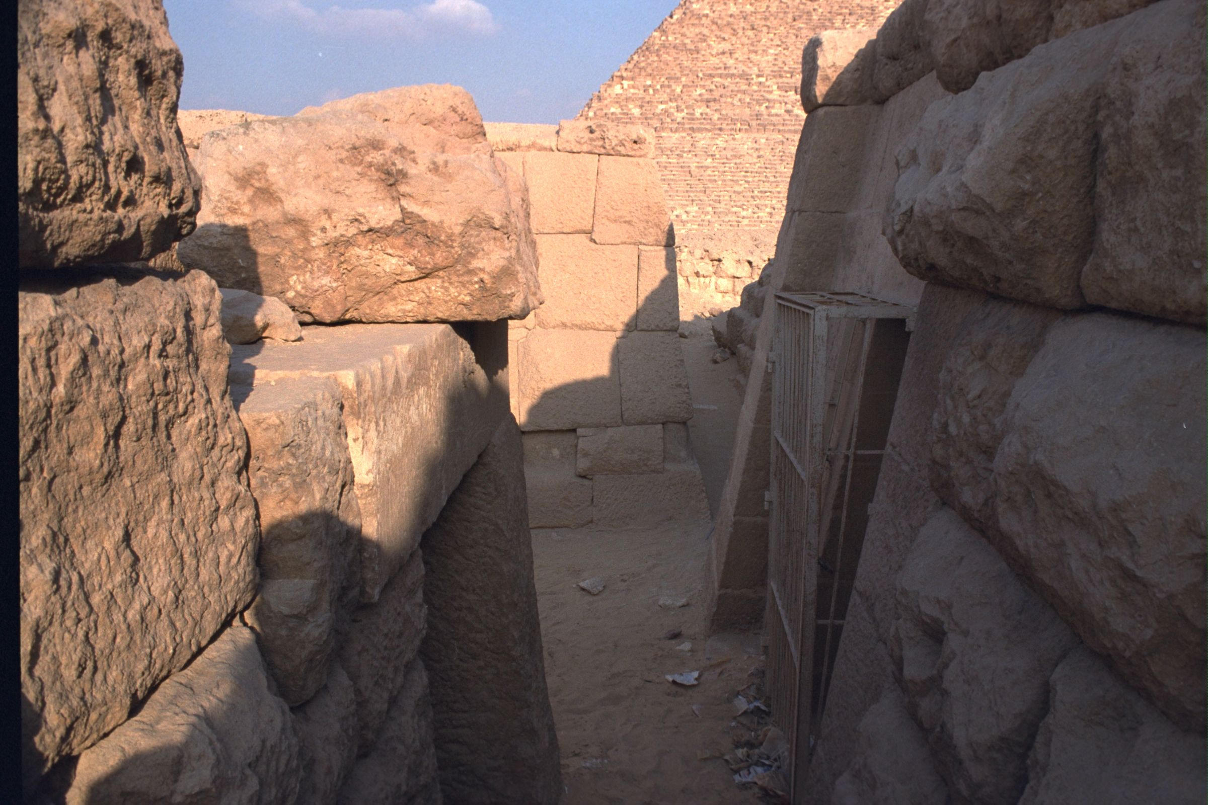 Western Cemetery: Site: Giza; View: Qedfy (G 2135a), G 4761, G 2155
