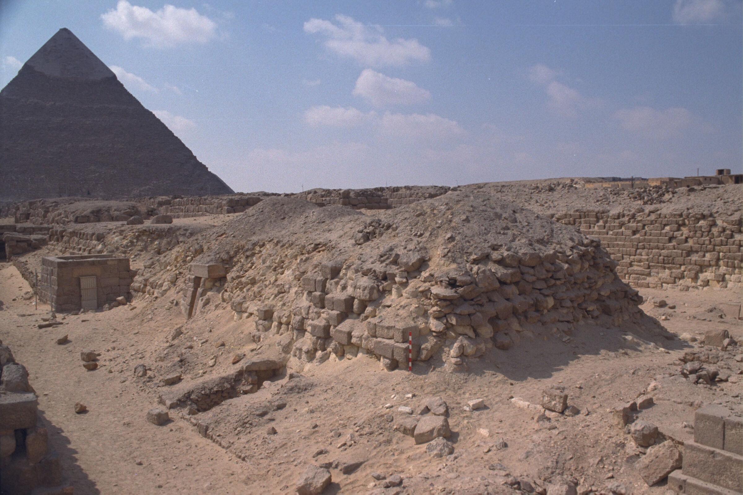 Western Cemetery: Site: Giza; View: G 2140, G 2136, G 2145, G 2146, G 2147, G 2148
