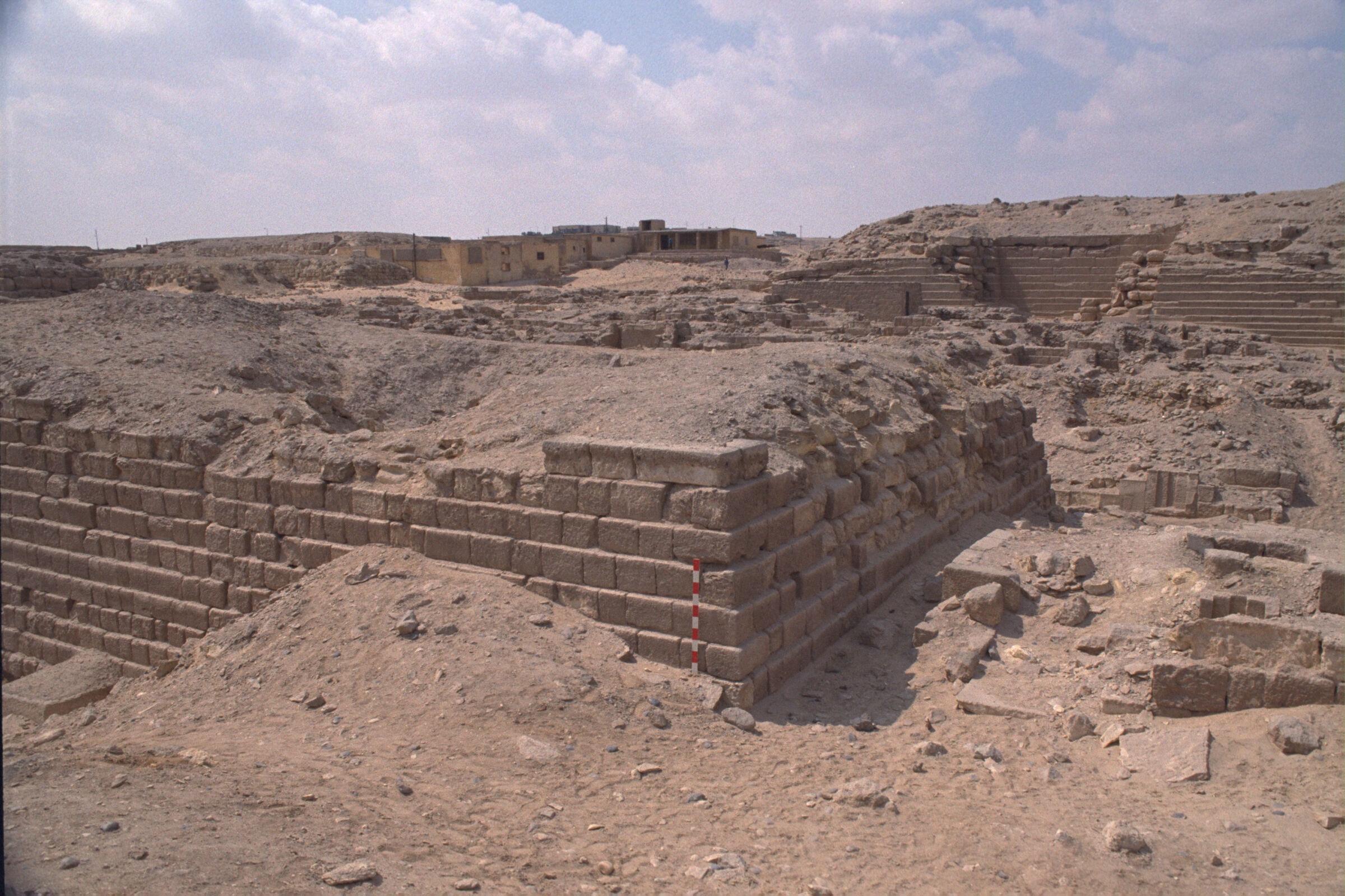 Western Cemetery: Site: Giza; View: G 2100, G 2114, G 2112, G 2111, G 2113