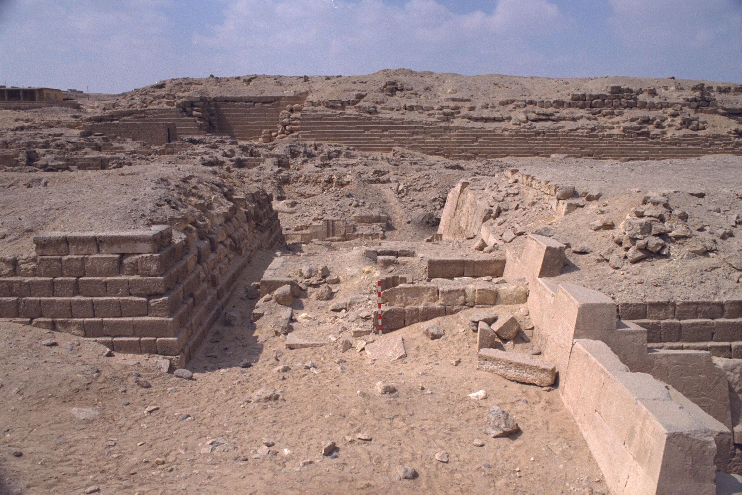 Western Cemetery: Site: Giza; View: G 2100, G 2110, G 2112, G 2111, G 2113