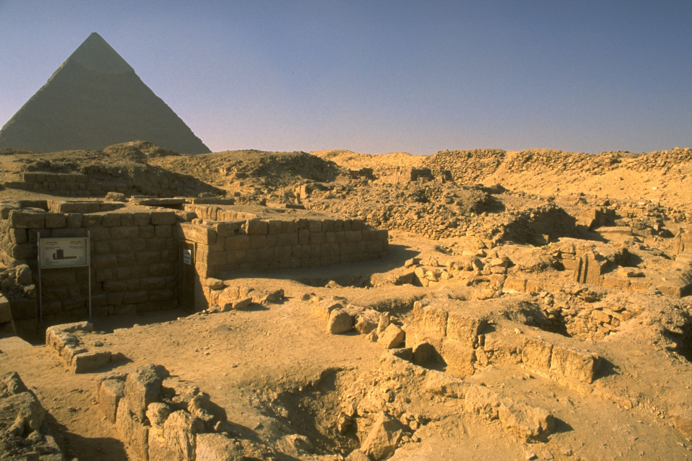 Western Cemetery: Site: Giza; View: G 2196, G 2170s