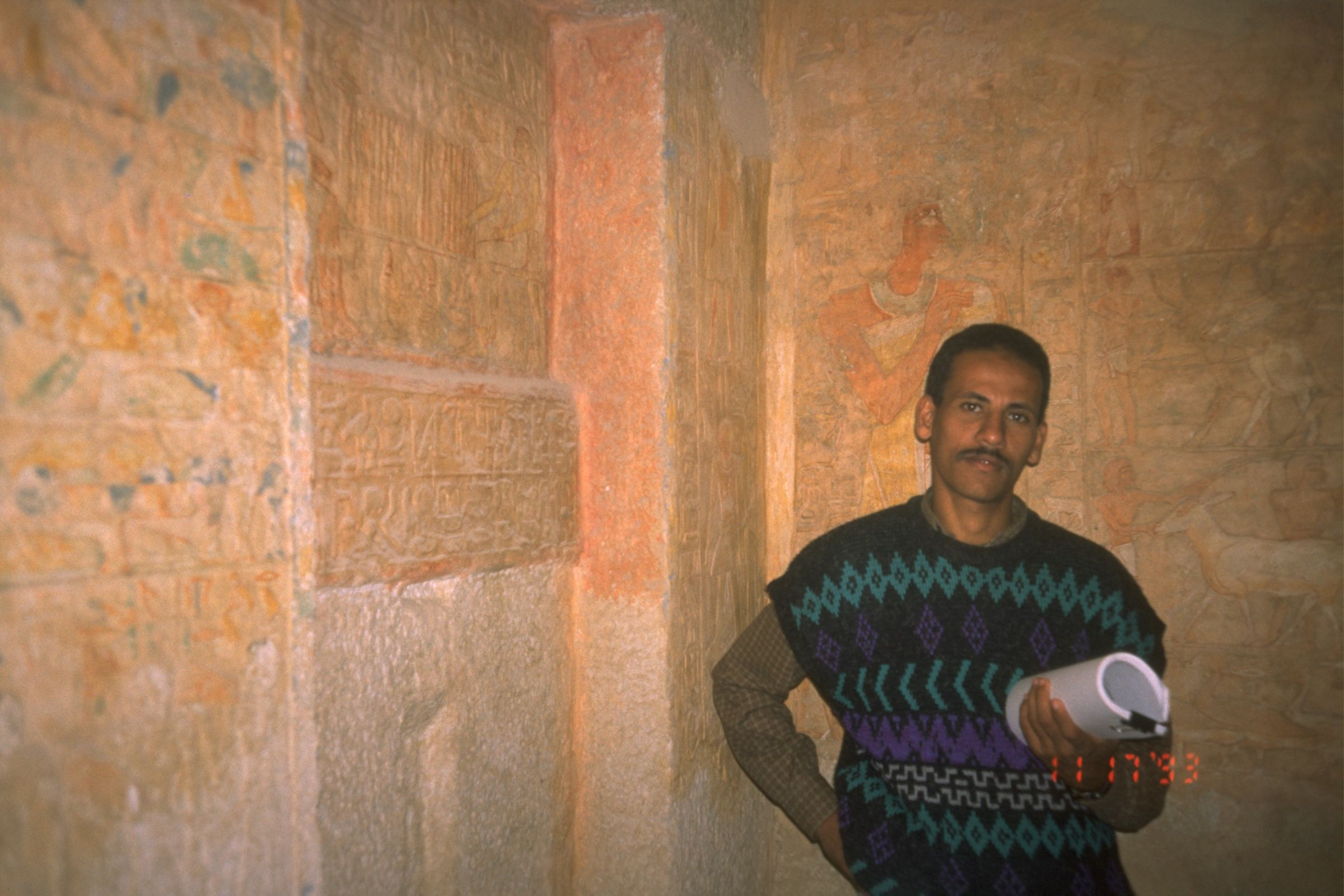 People & places: Site: Giza; View: G 2136