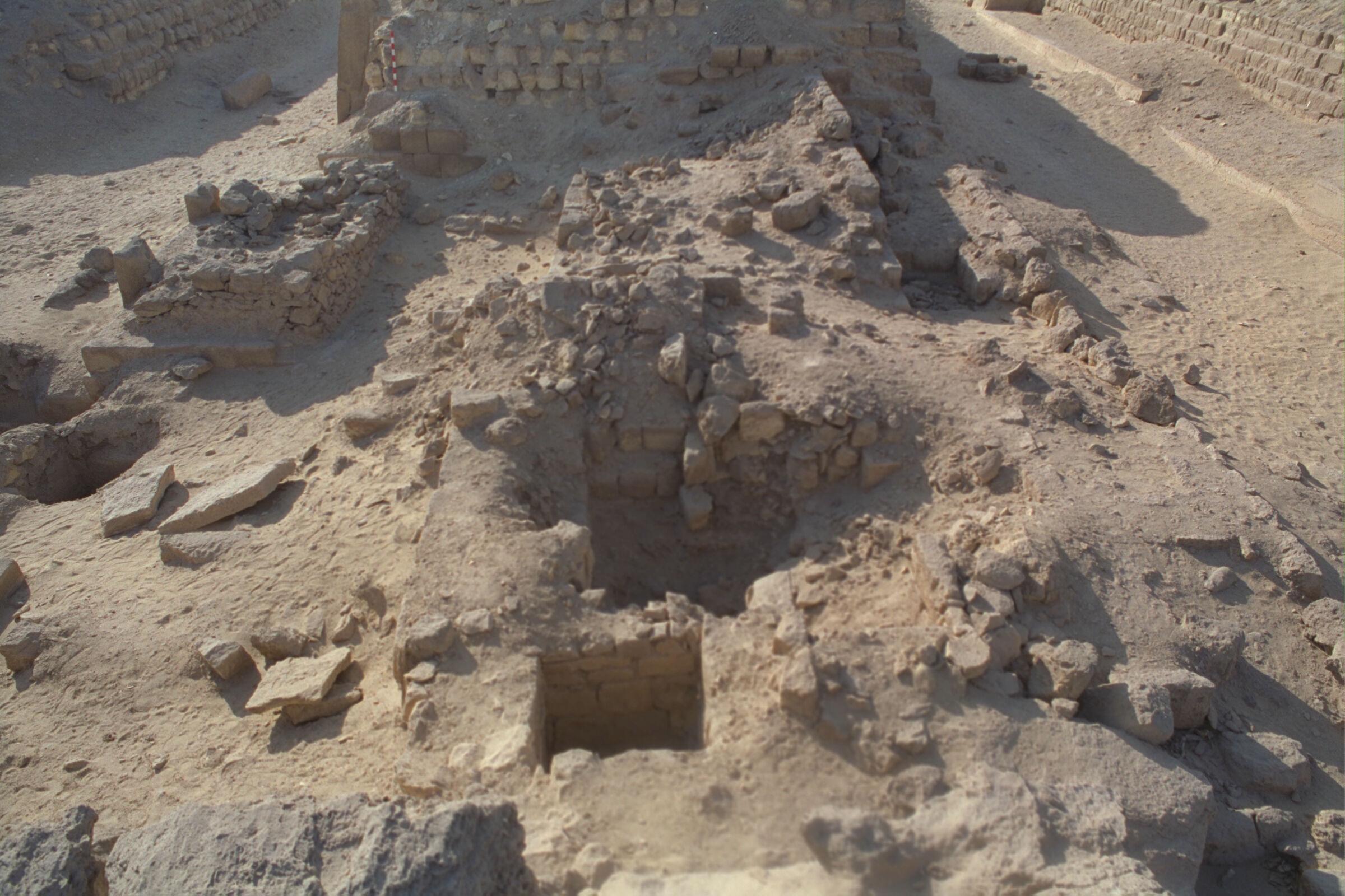 Western Cemetery: Site: Giza; View: G 2131, G 2132, G 2133, G 2134, G 2151