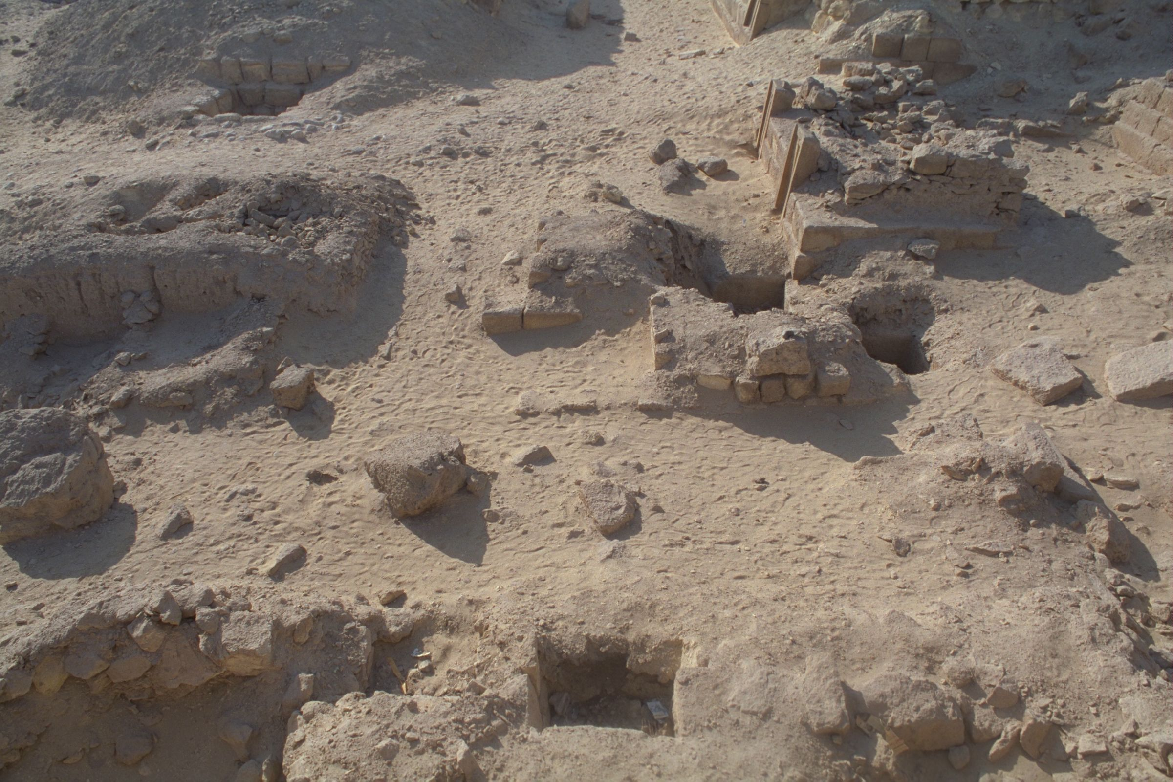 Western Cemetery: Site: Giza; View: G 2156', G 2139, G 2154, G 2154a, G 2153, G 2152, G 2151, G 2136', G 2157