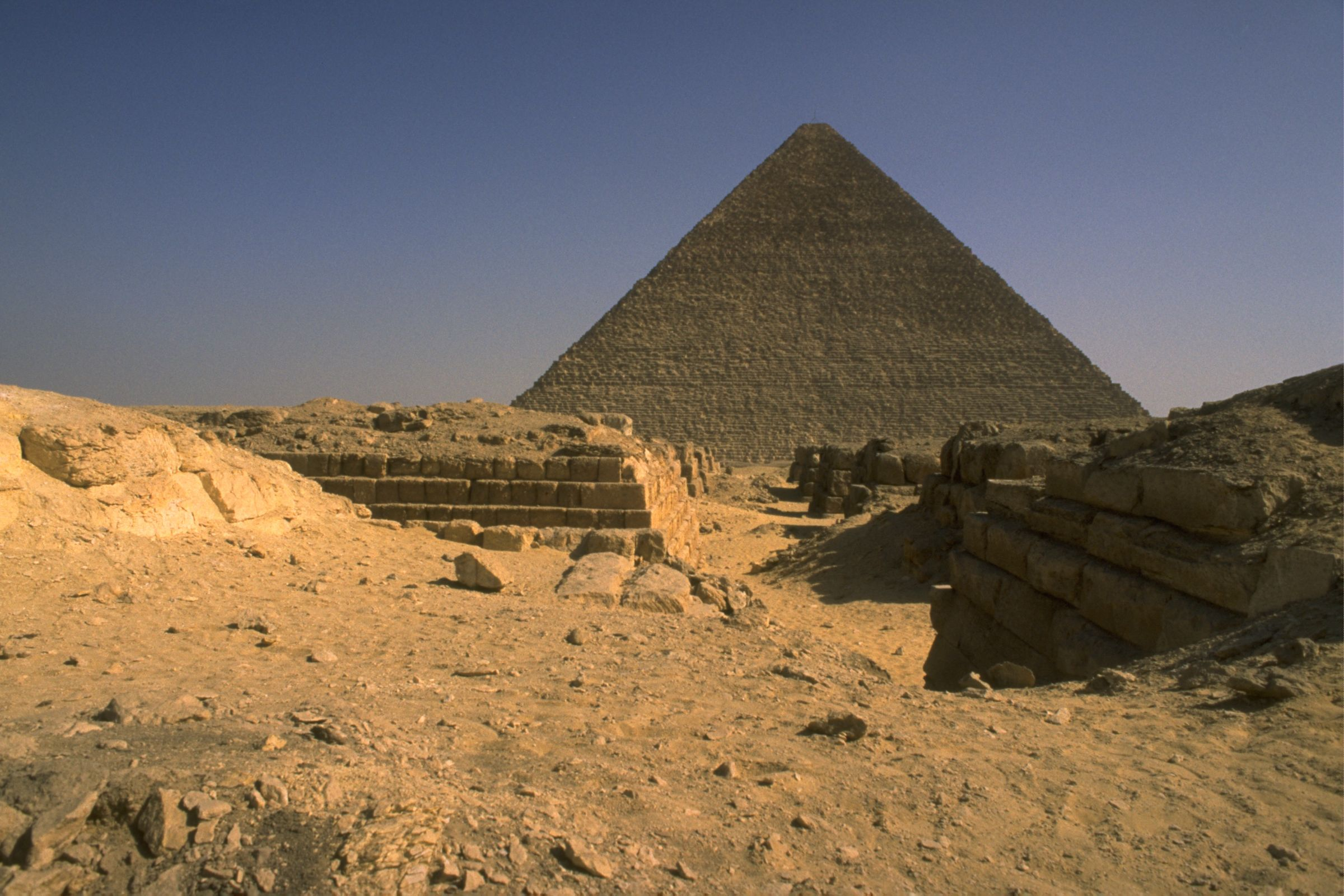 Western Cemetery: Site: Giza; View: G 4240, 4250, 4340, 4350, 4440, 4450