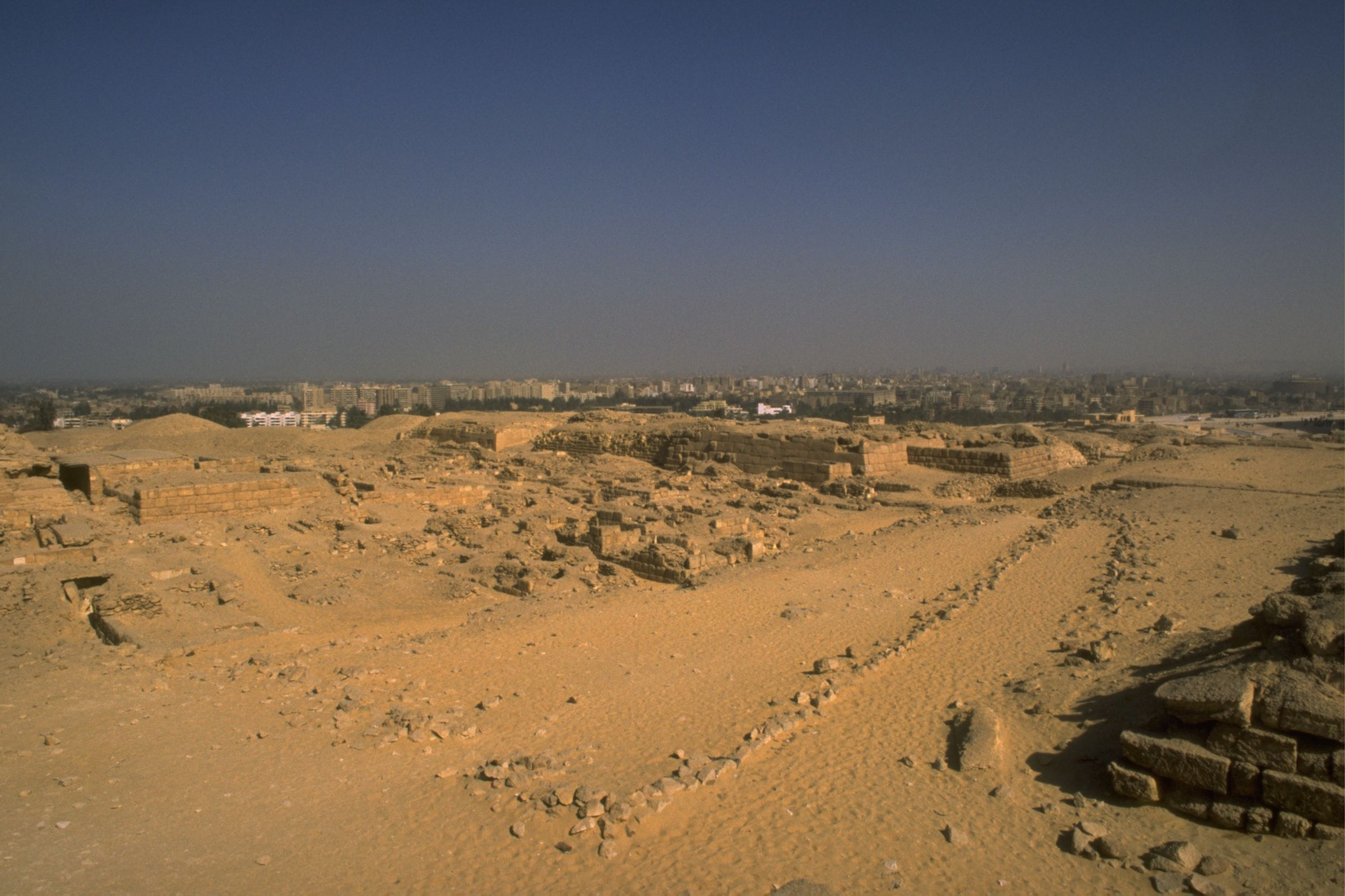 Western Cemetery: Site: Giza