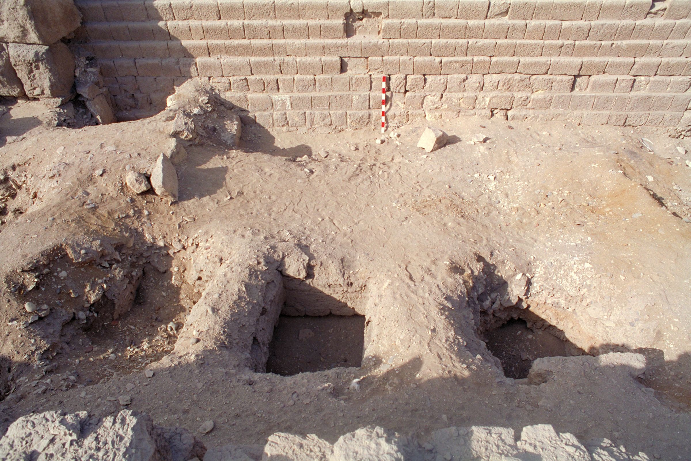 Western Cemetery: Site: Giza; View: G 2100, 2104, 2105