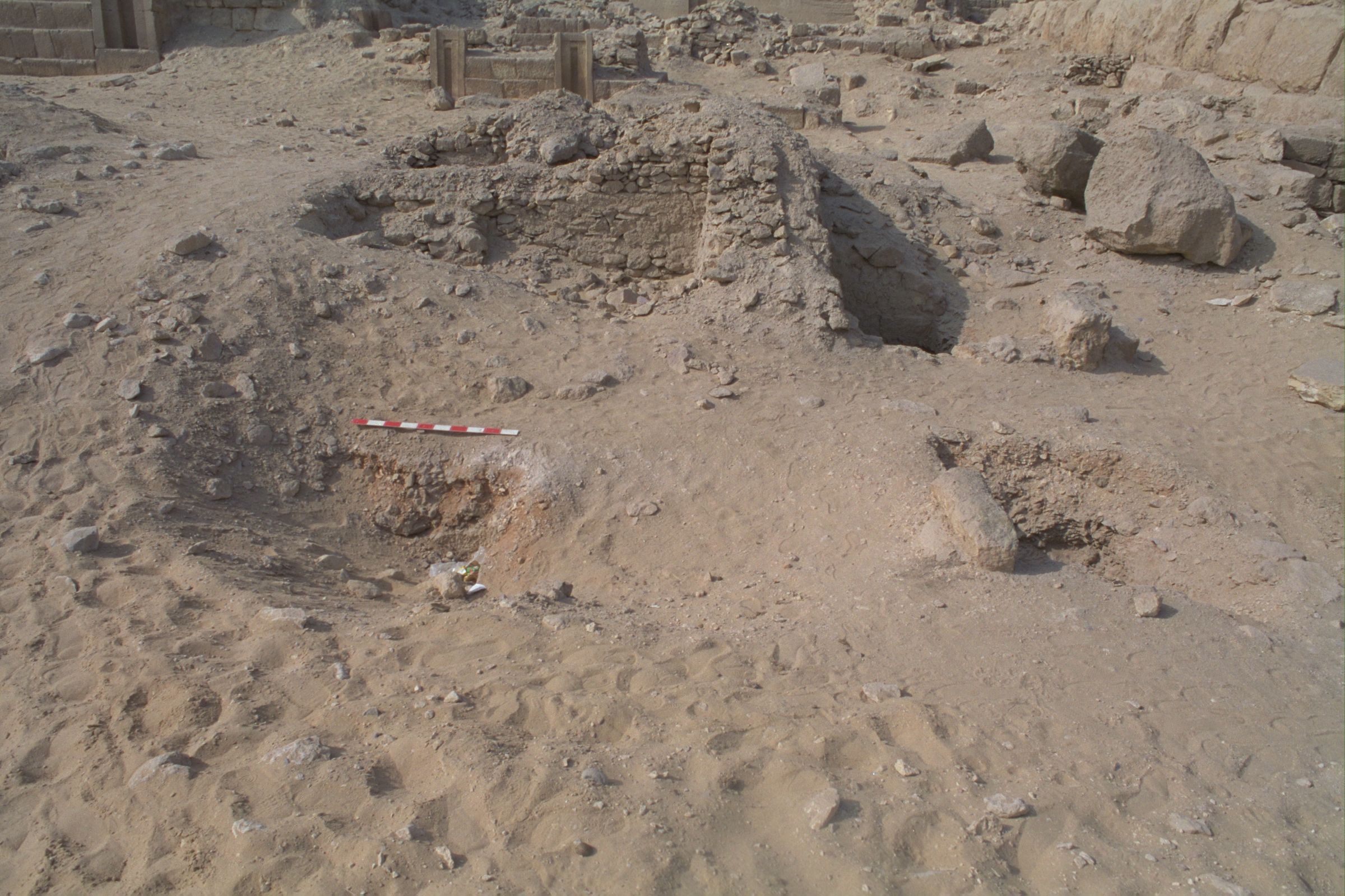 Western Cemetery: Site: Giza; View: G 2223, G 2223a, G 2154, G 2154a