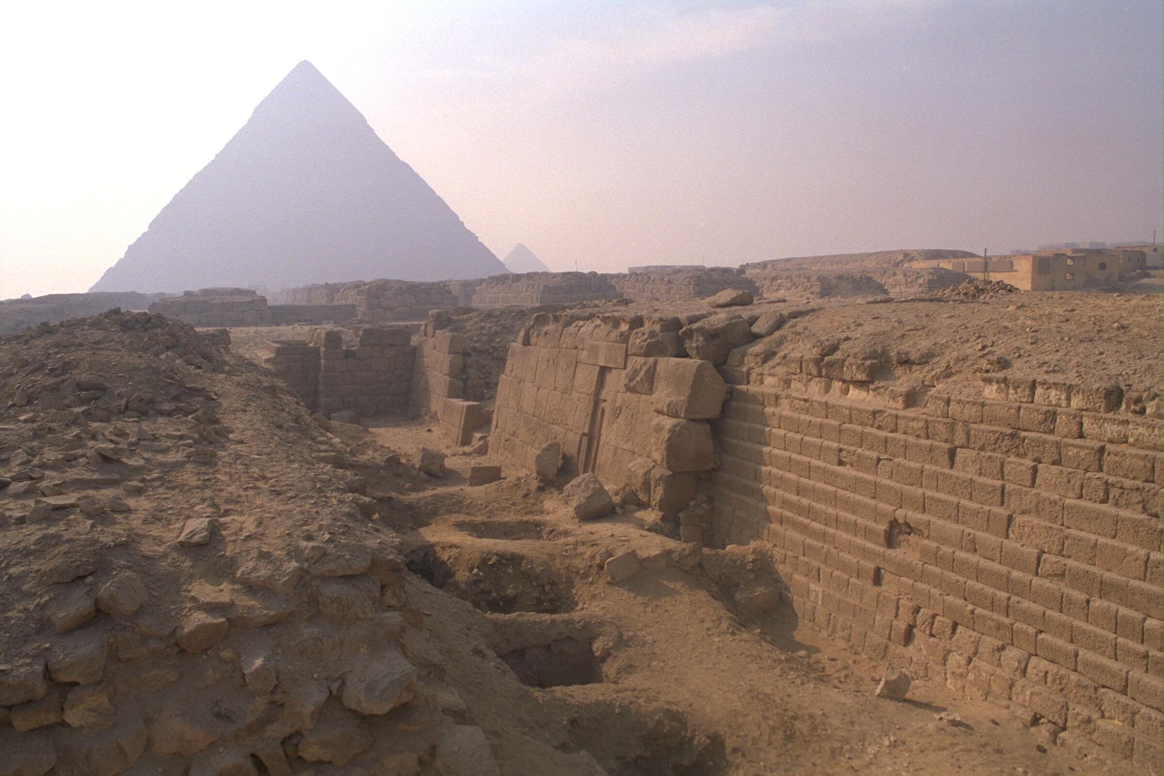 Western Cemetery: Site: Giza; View: G 2100, G 2100-I, G 2103, G 2103, G 2104, G 2105