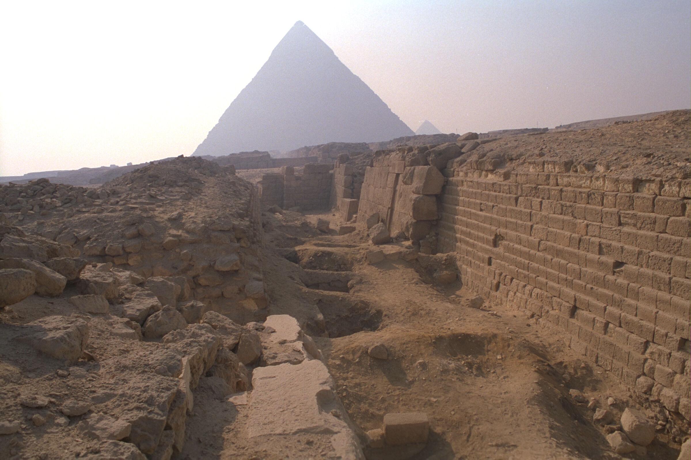 Western Cemetery: Site: Giza; View: G 2100, G 2100-I, G 2103, G 2104, G 2105