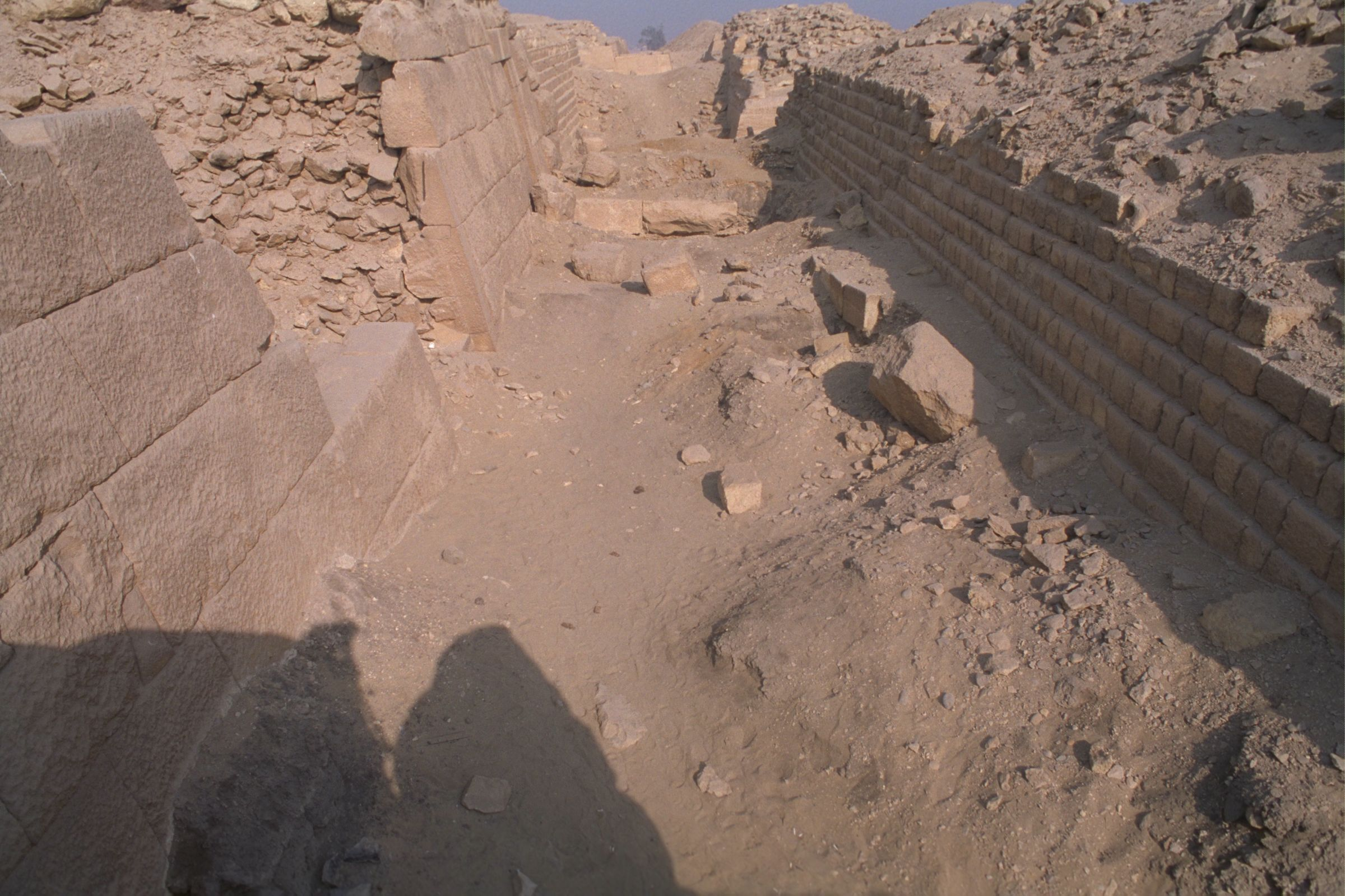 Western Cemetery: Site: Giza; View: G 2100-I, 2103, 2104, 2105