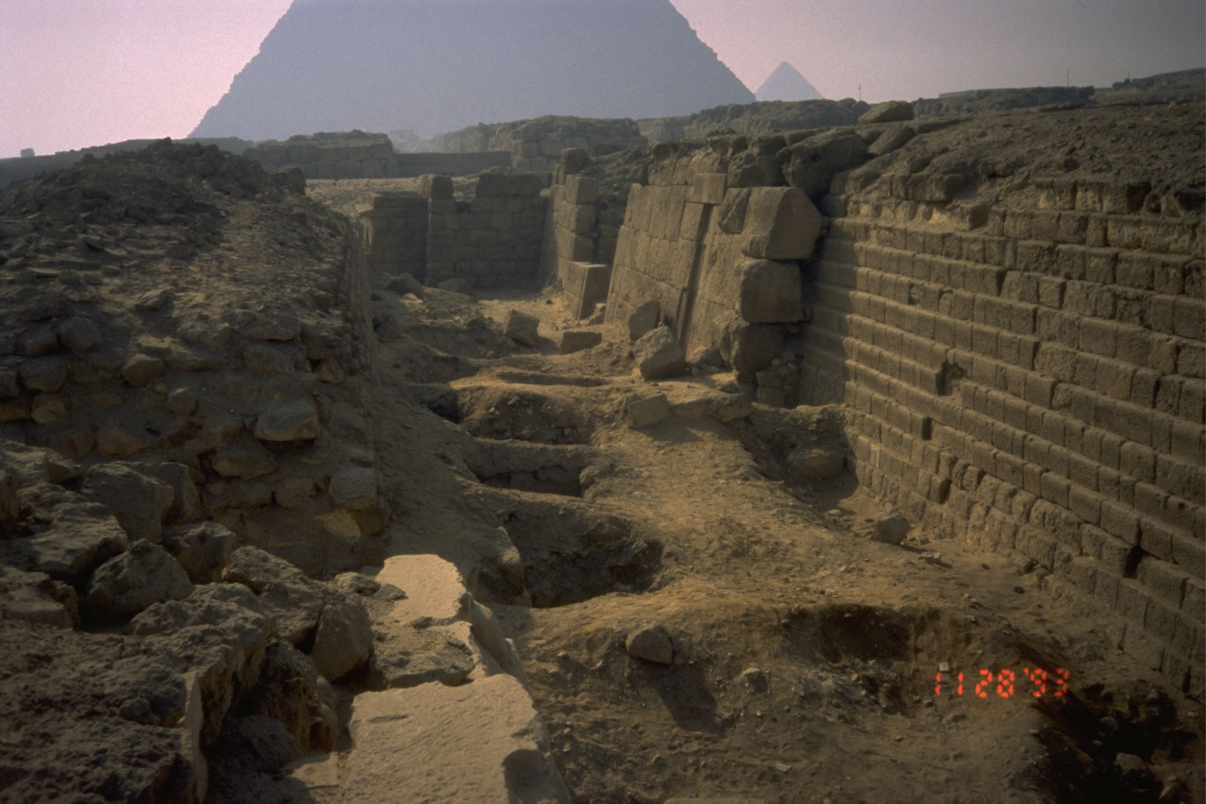 Western Cemetery: Site: Giza; View: G 2100-I, G 2100, G 2102, G 2103, G 2104, G 2105