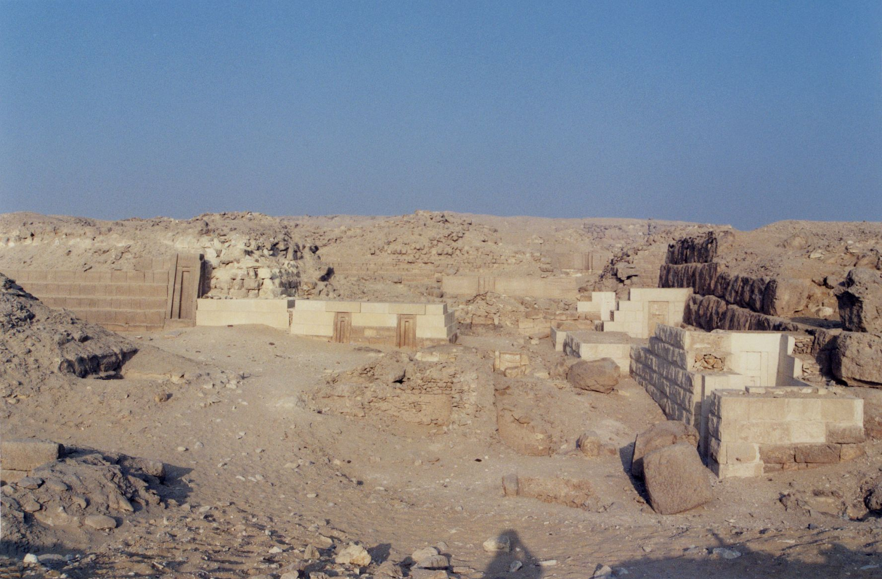 Western Cemetery: Site: Giza; View: G 2151, G 2156', G 2138, G 2134