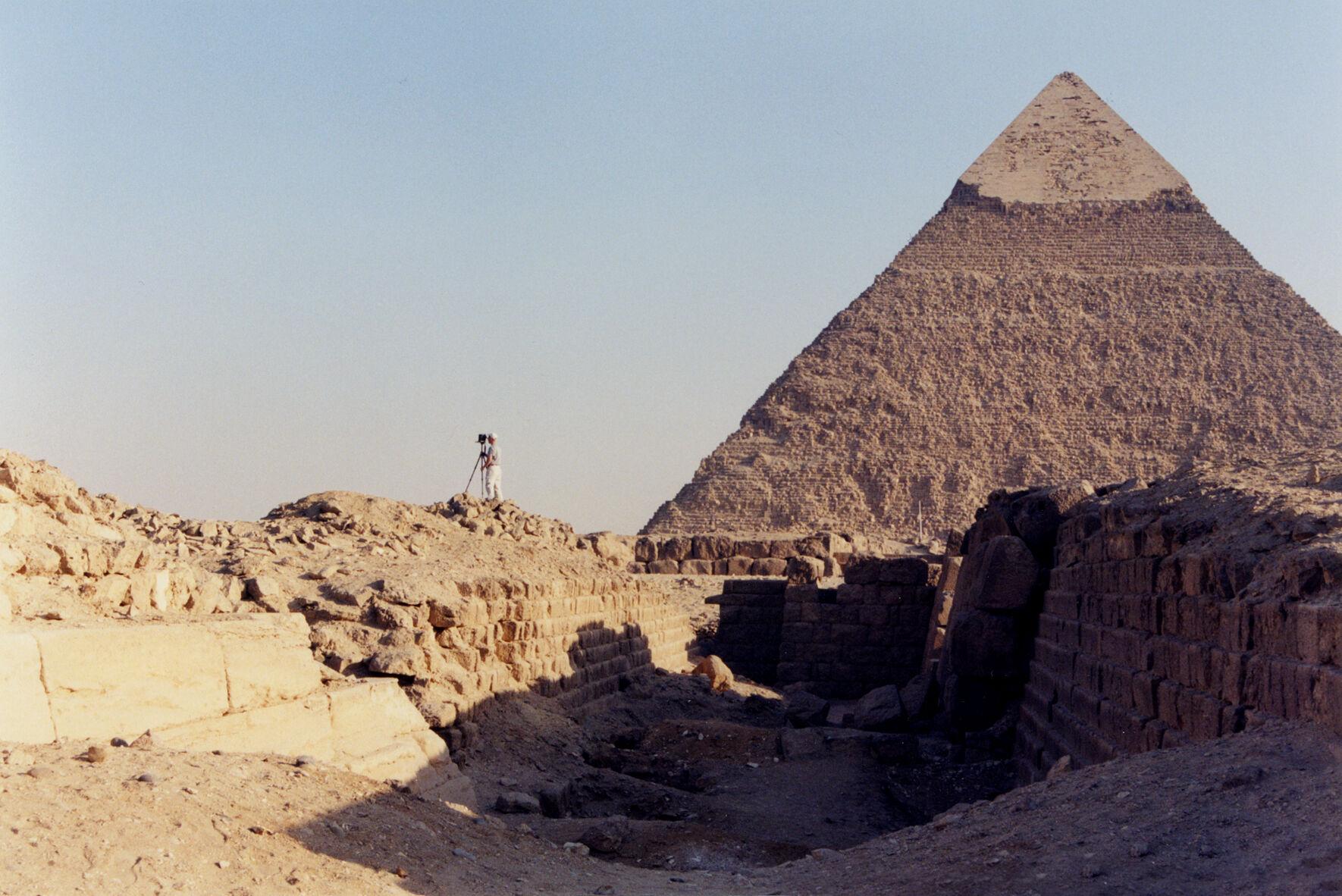 Western Cemetery: Site: Giza; View: G 2100, G 2100-I, G 2100-II, G 2120, G 2130