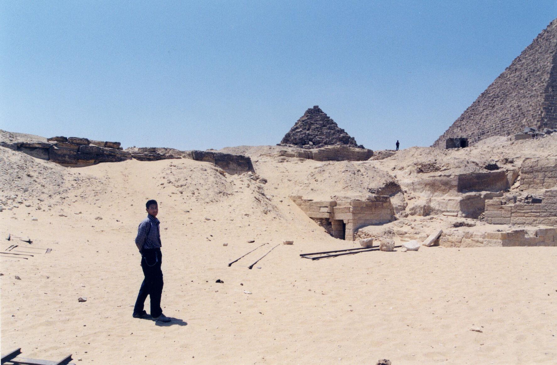 Menkaure Quarry Cemetery: Site: Giza; View: MQ 1, MQ 123, MQ 135, MQ 134, MQ 120, MQ 124