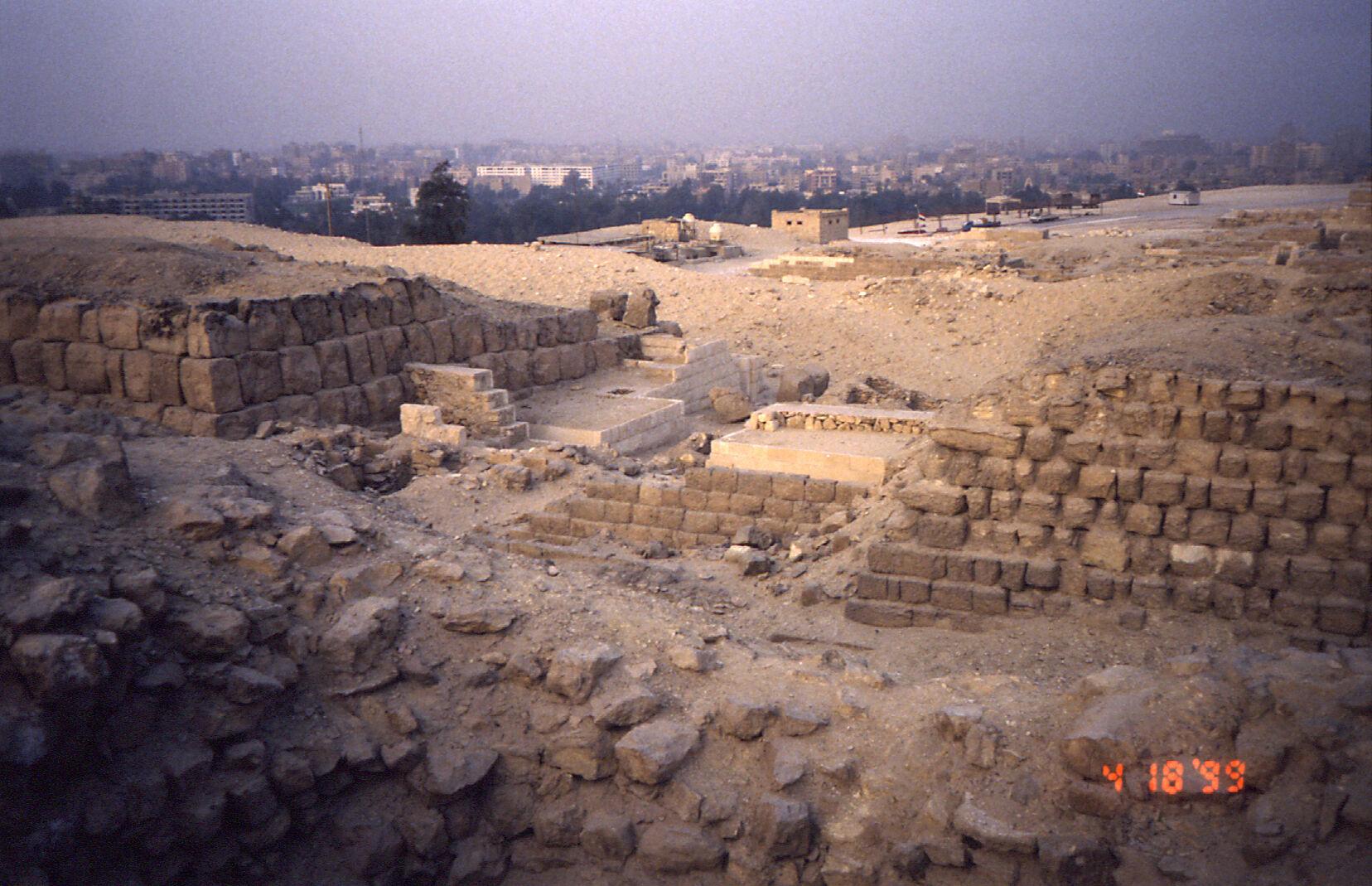 Western Cemetery: Site: Giza; View: G 2150, G 2151, G 2134, G 2138, G 2156', G 2220