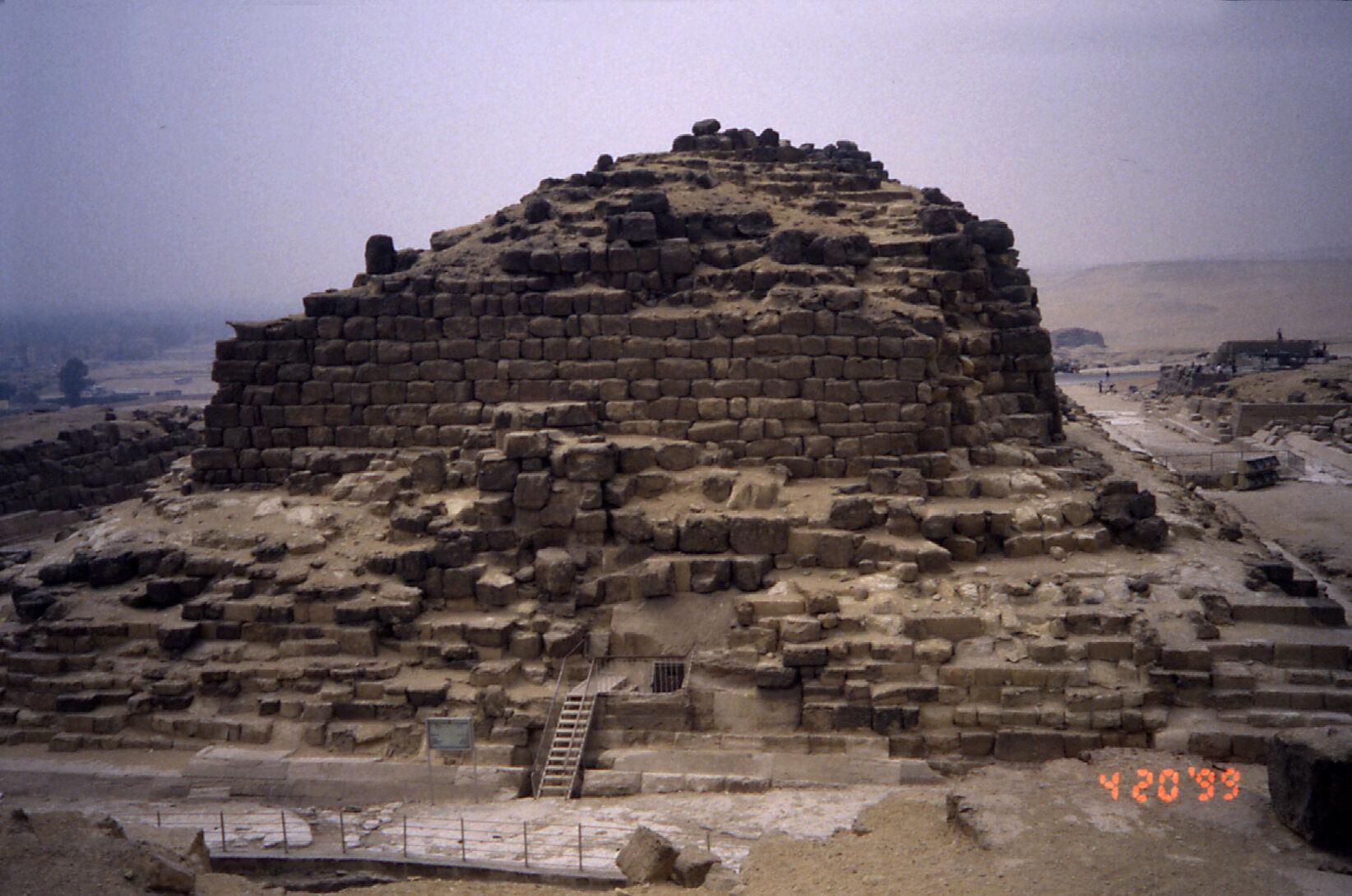Khufu Pyramid Complex: Site: Giza; View: G I-b