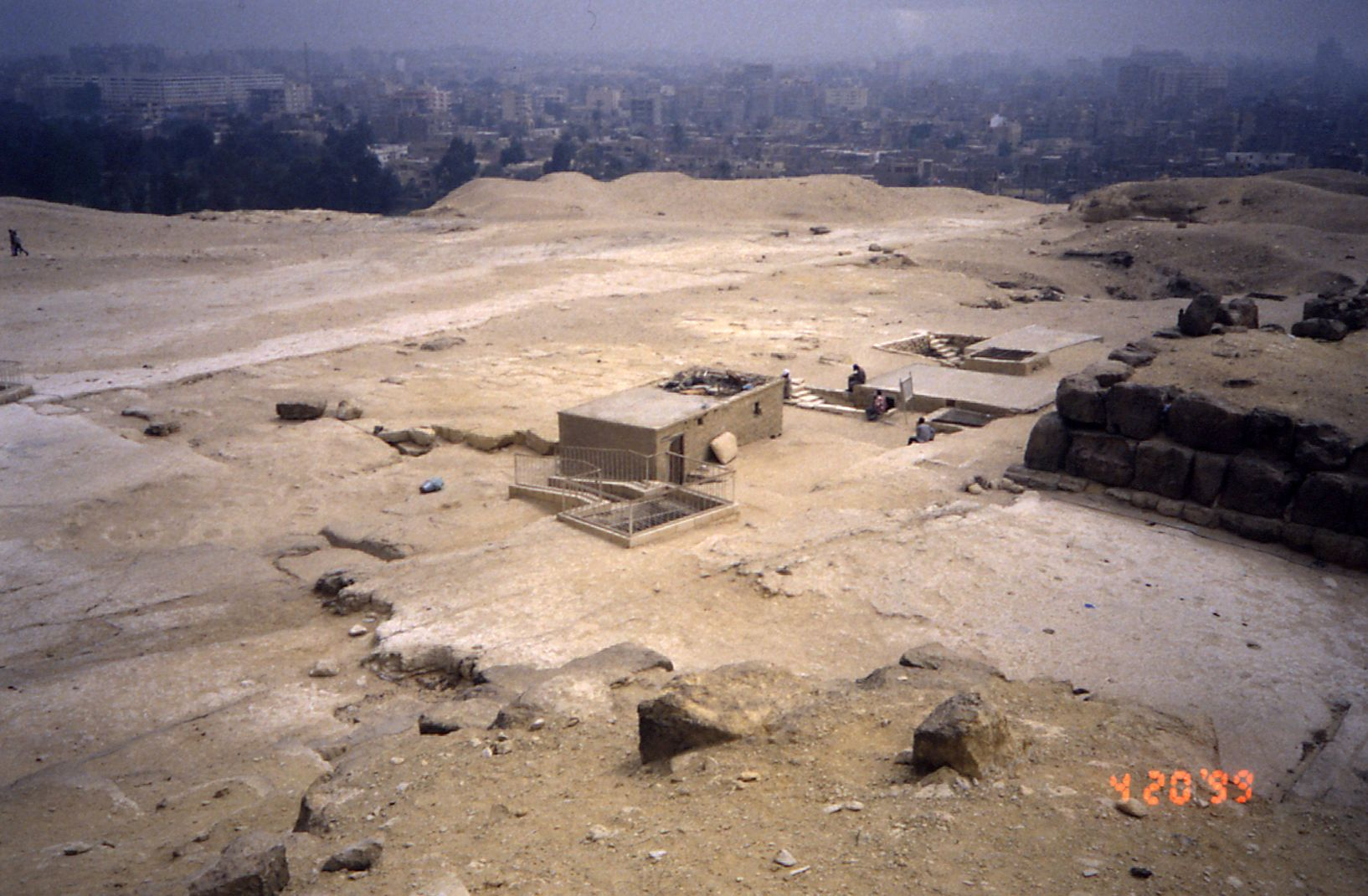 Eastern Cemetery: Site: Giza; View: G 7000 X, G 7101, G 7102