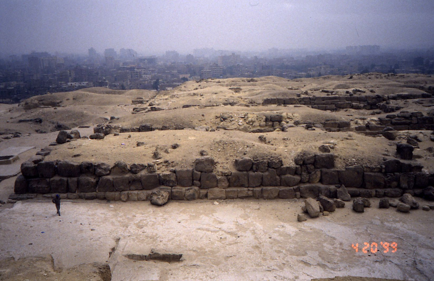 Eastern Cemetery: Site: Giza; View: G 7110-7120, G I-x